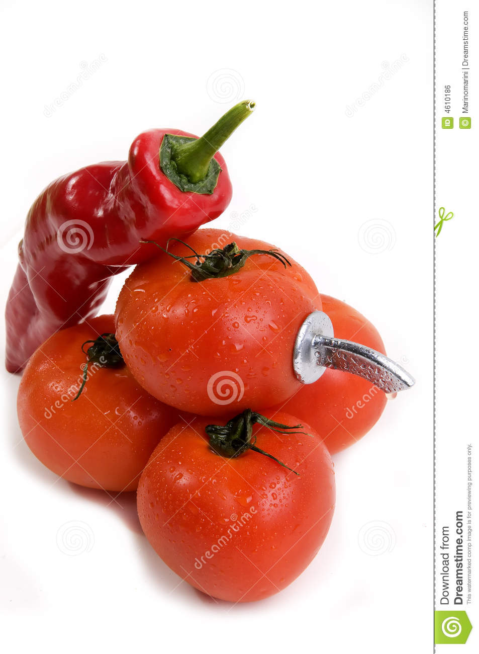 Source of hot tomato juice