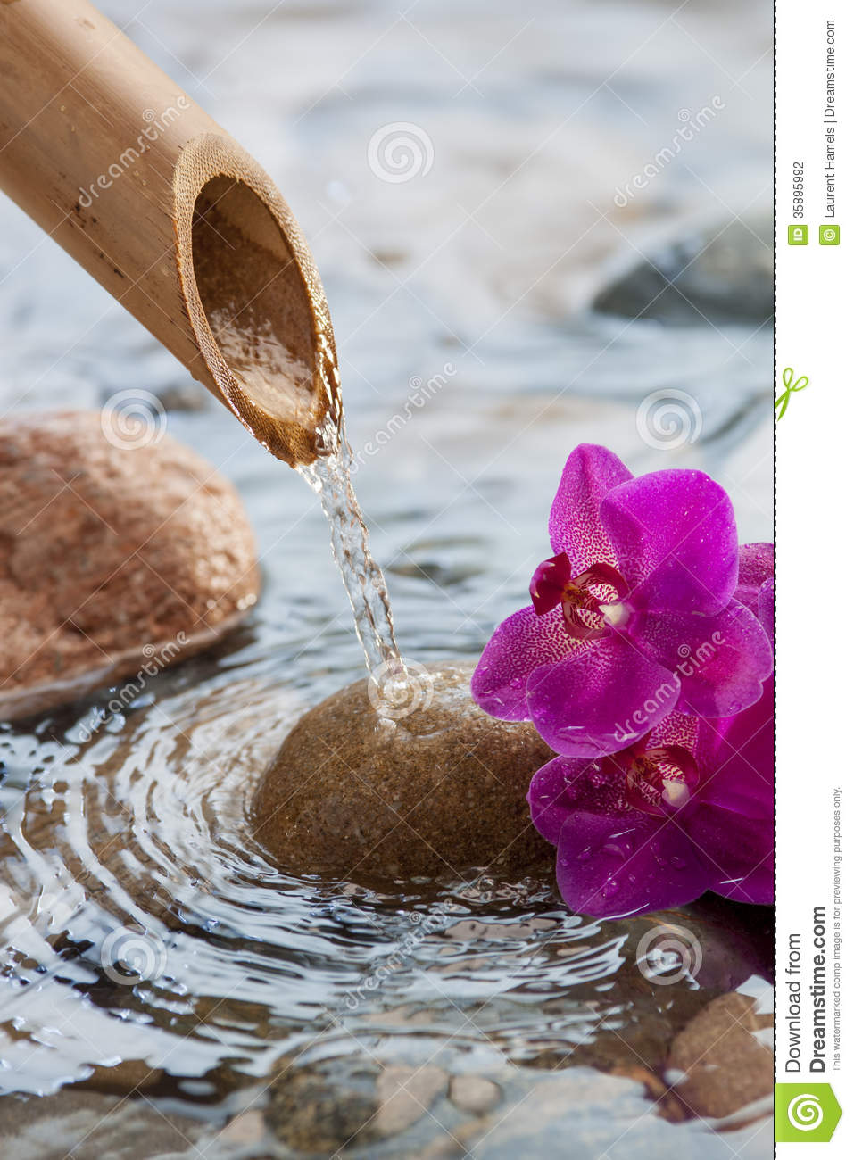 Source Of Water For Zen Decor Stock Photo Image Of Feng