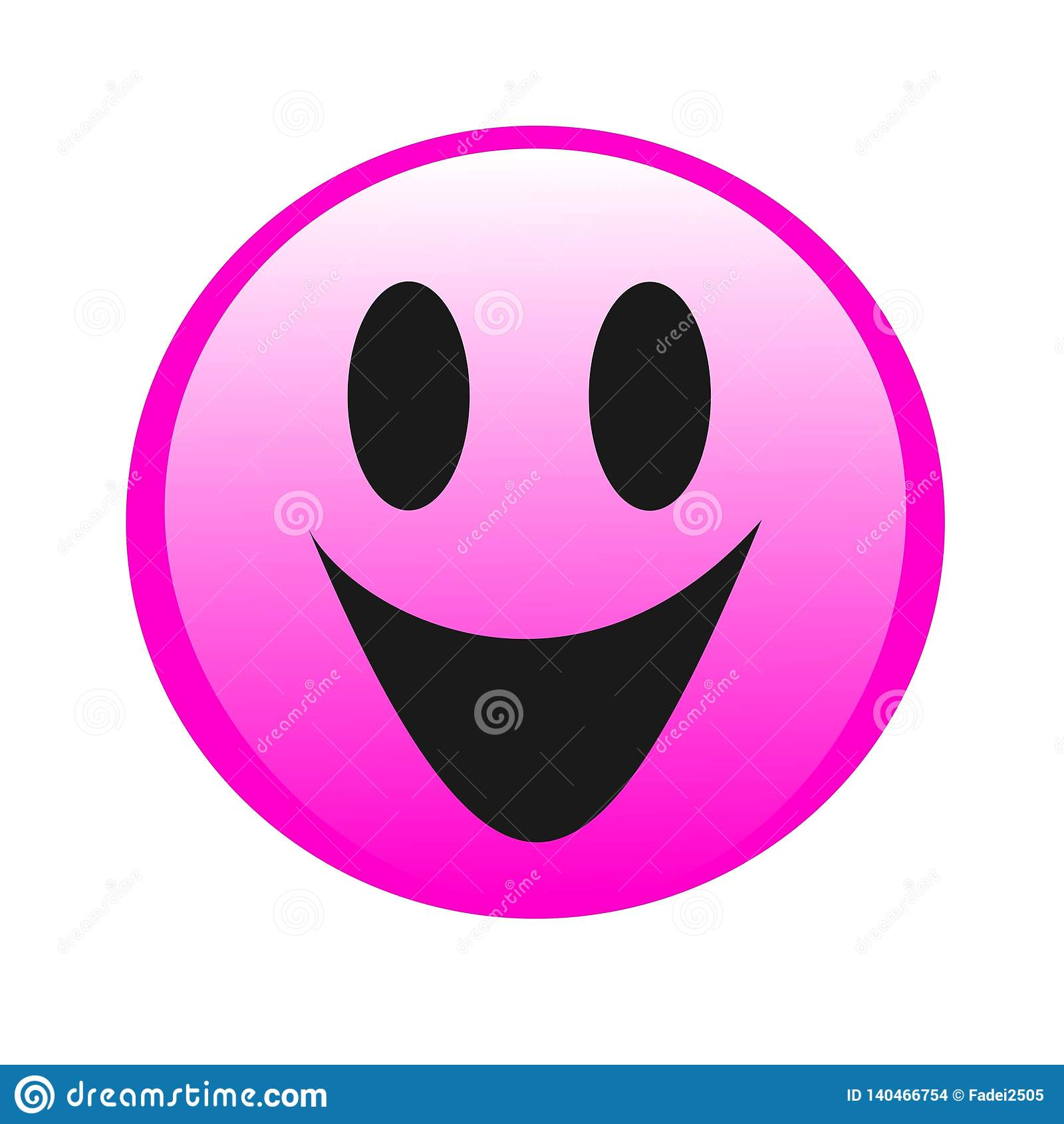 Sourire de dessin de logo