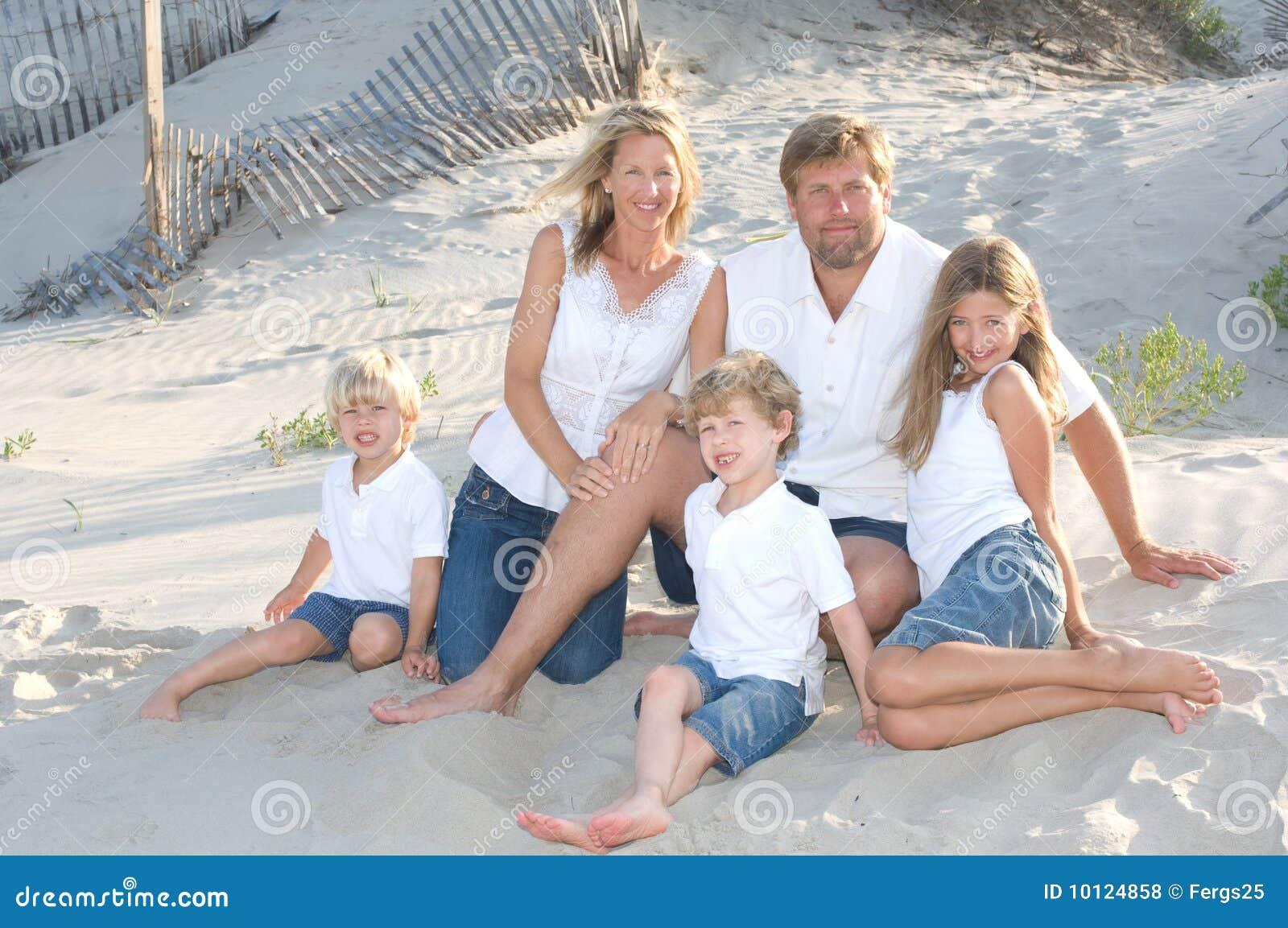 Photo de famille nue libre