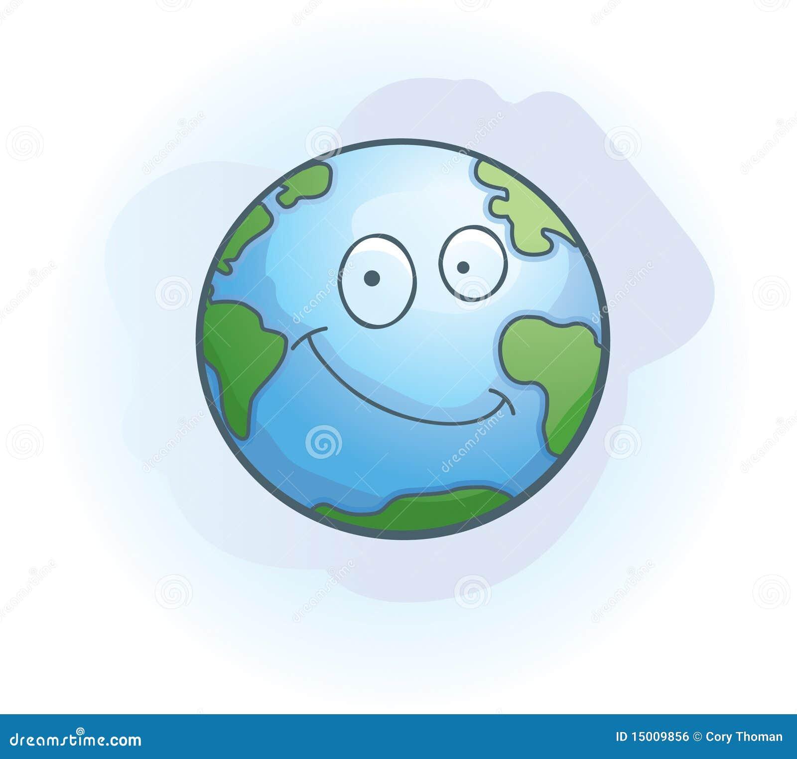 sourire de la terre illustration de vecteur illustration du watercolor 15009856. Black Bedroom Furniture Sets. Home Design Ideas