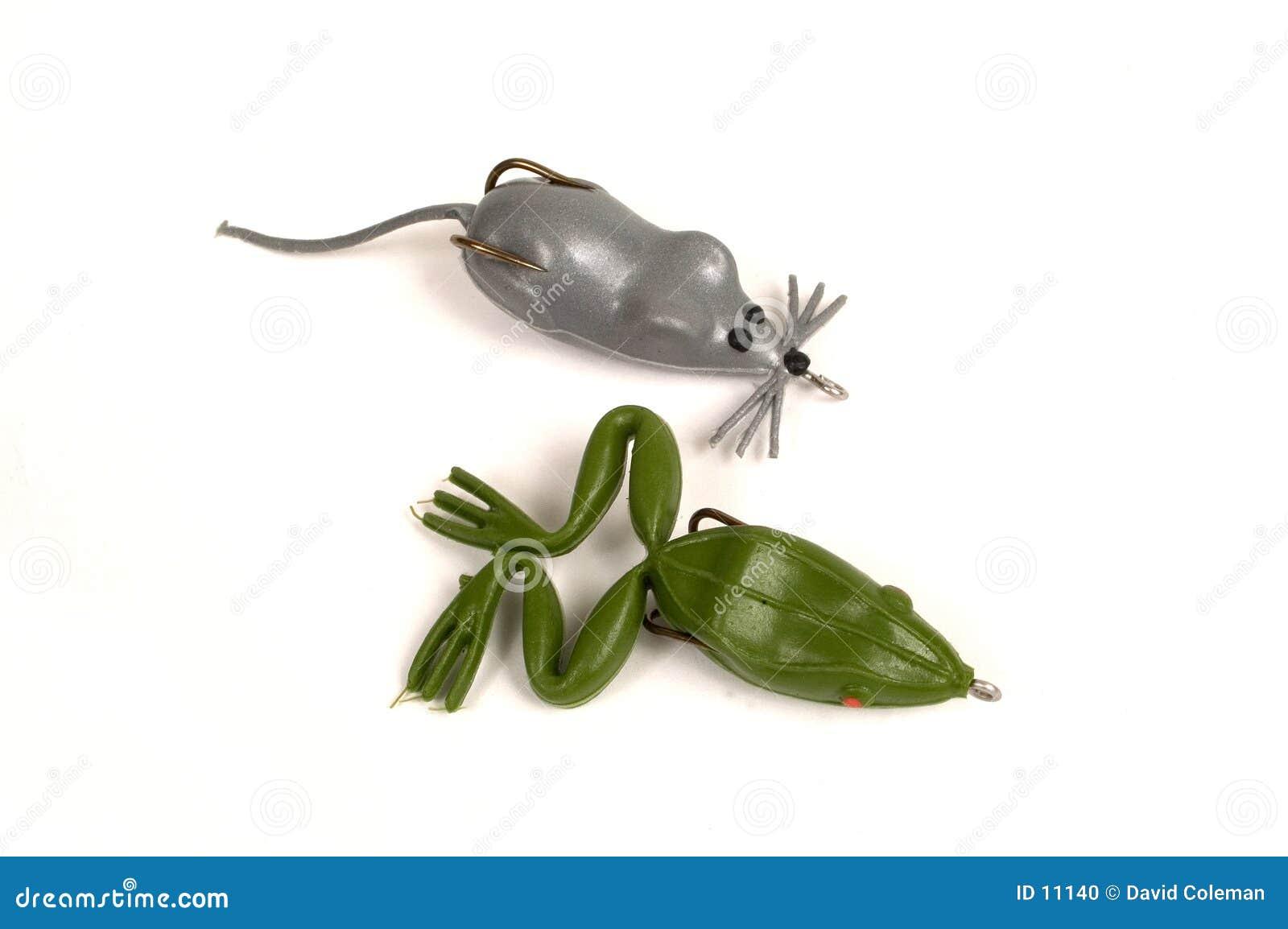 Souris et grenouille