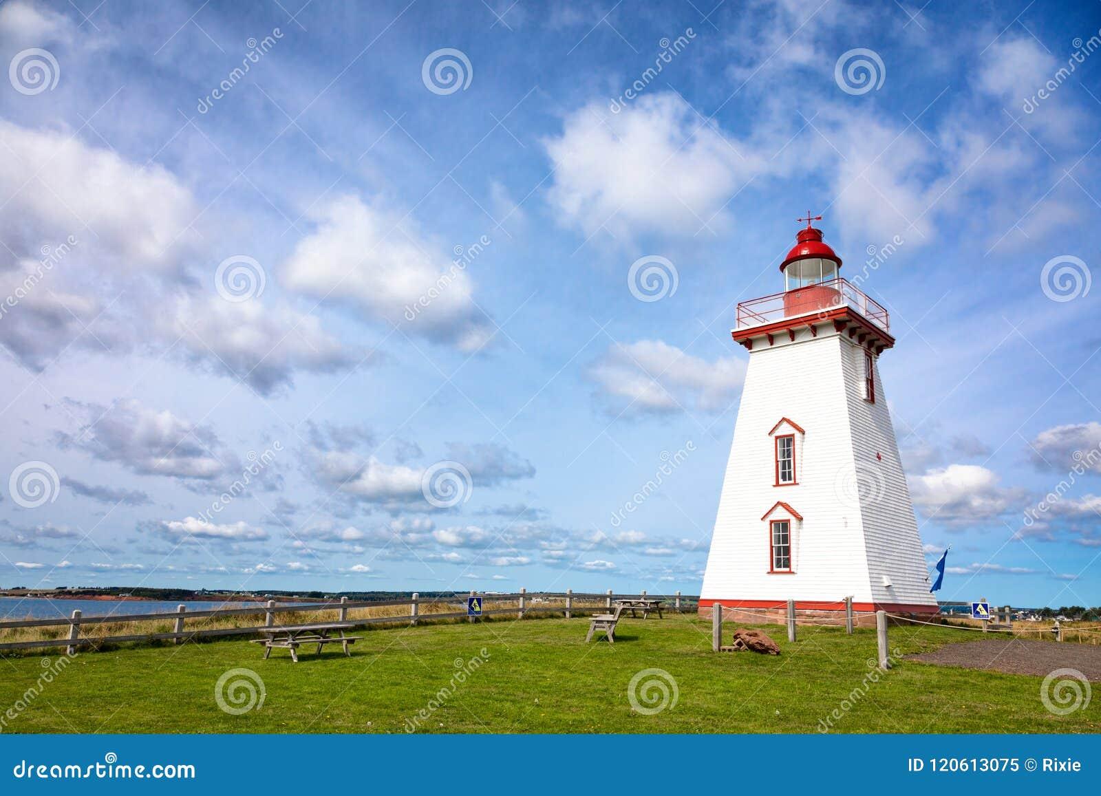 Souris-Leuchtturm auf Prinzen Edward Island