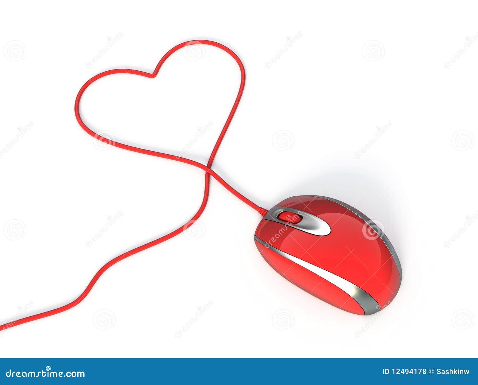 Souris rouge d 39 ordinateur photos libres de droits image 12494178 - Les souris d ordinateur ...