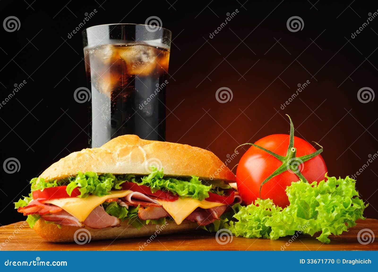 Sous sandwich à épicerie