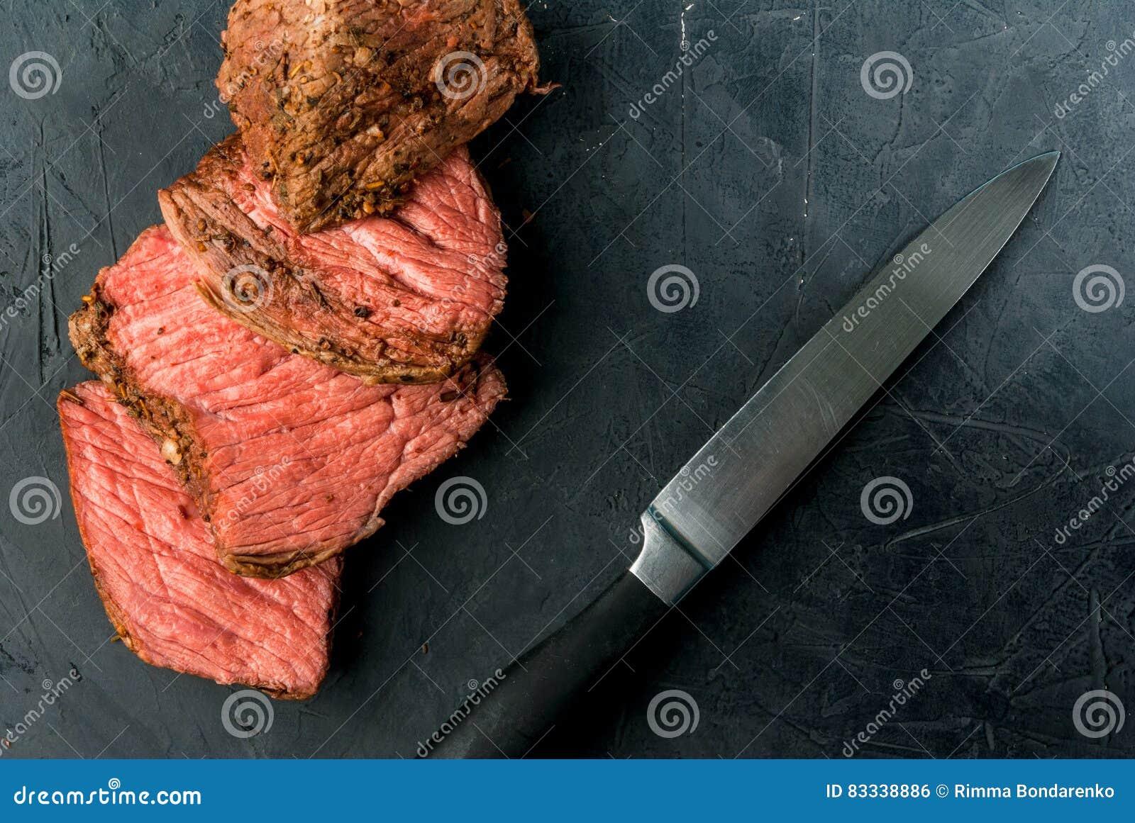 Sous -sous-vide rundvleeslapje vlees