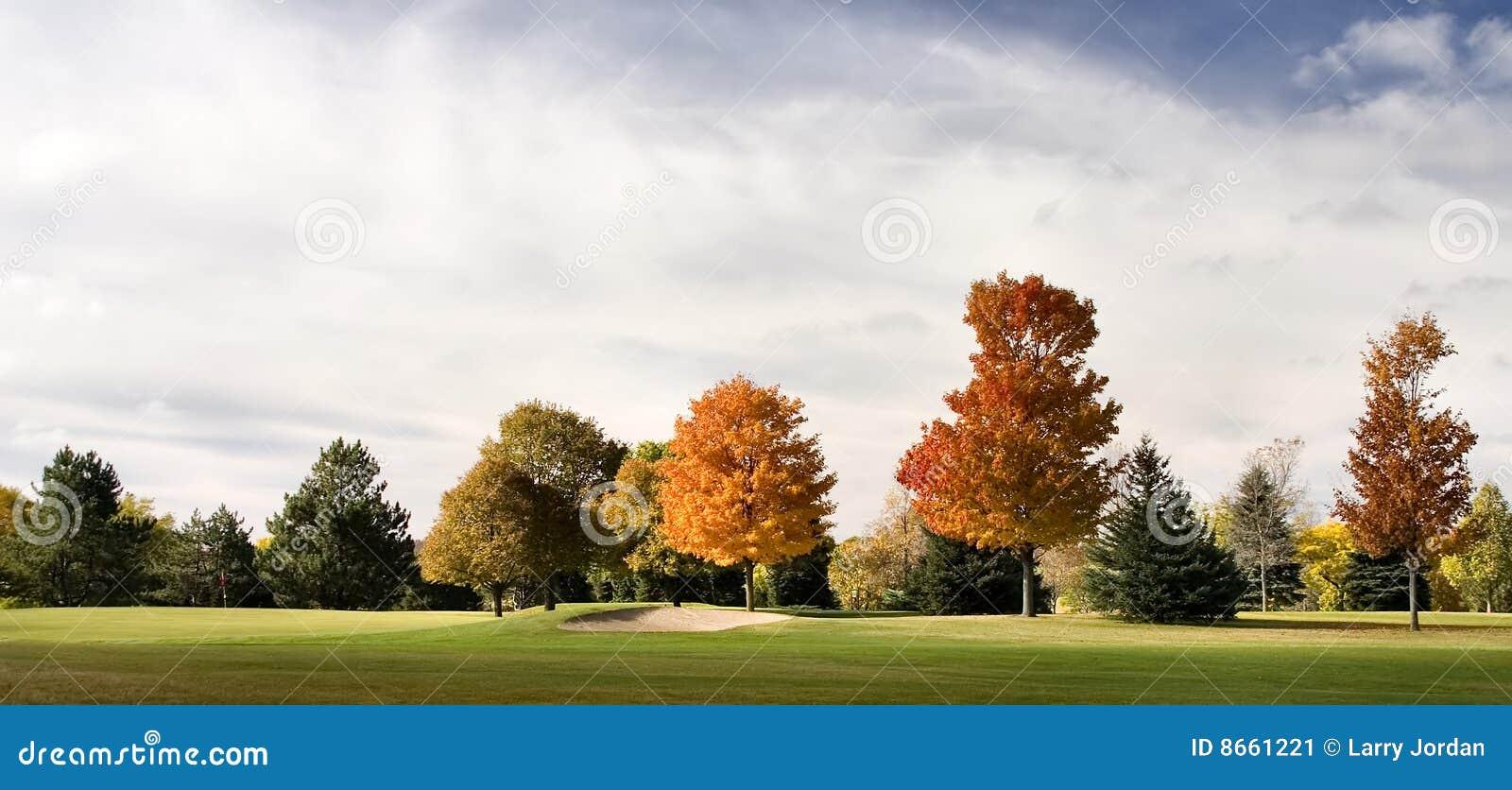 Soute de terrain de golf