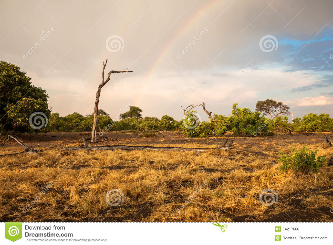 South africa landscape with a rainbow stock photo image for Landscape sa