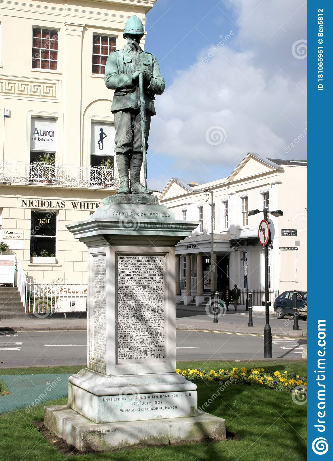 A South Africa War Memorial At The Promenade In Cheltenham Uk Editorial Photo Image Of Military Cheltenham 181065951