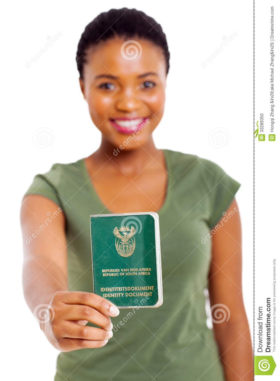South African ID Book Stock Photo - Image: 33289350