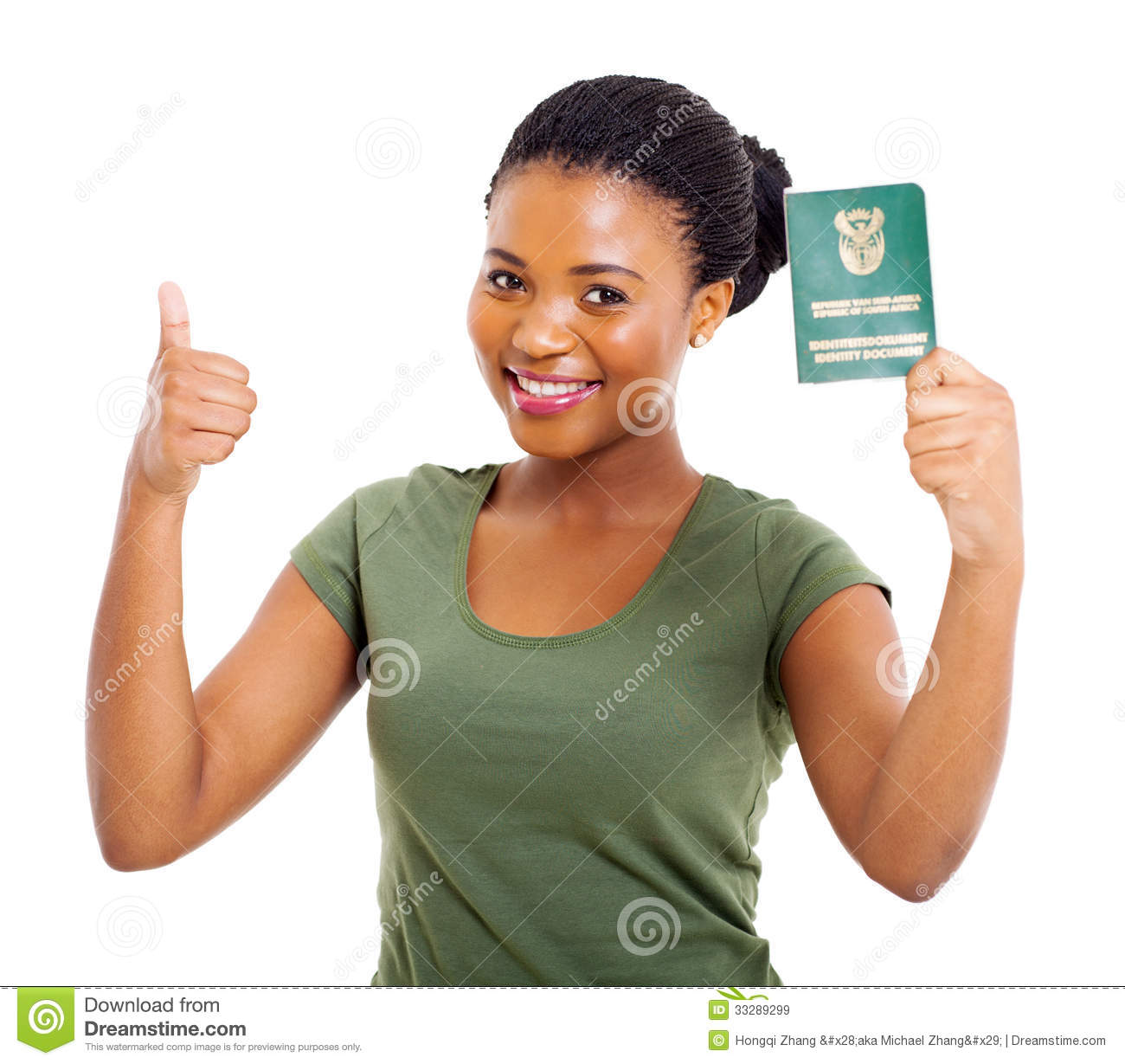 Download South african ID stock image. Image of confident, beauty - 33289299