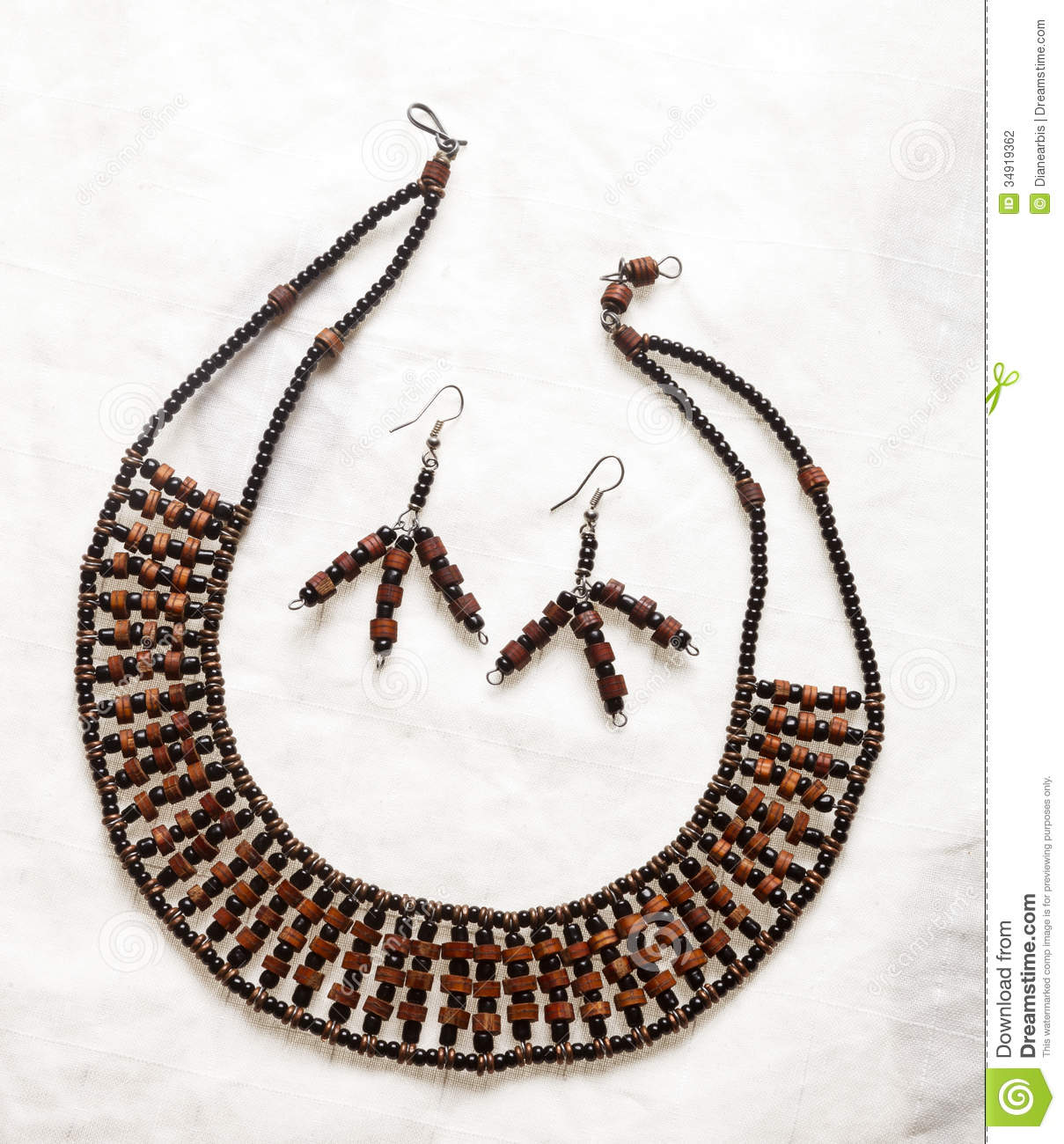South african jewelry stock photo image of repetition for How to make african jewelry crafts