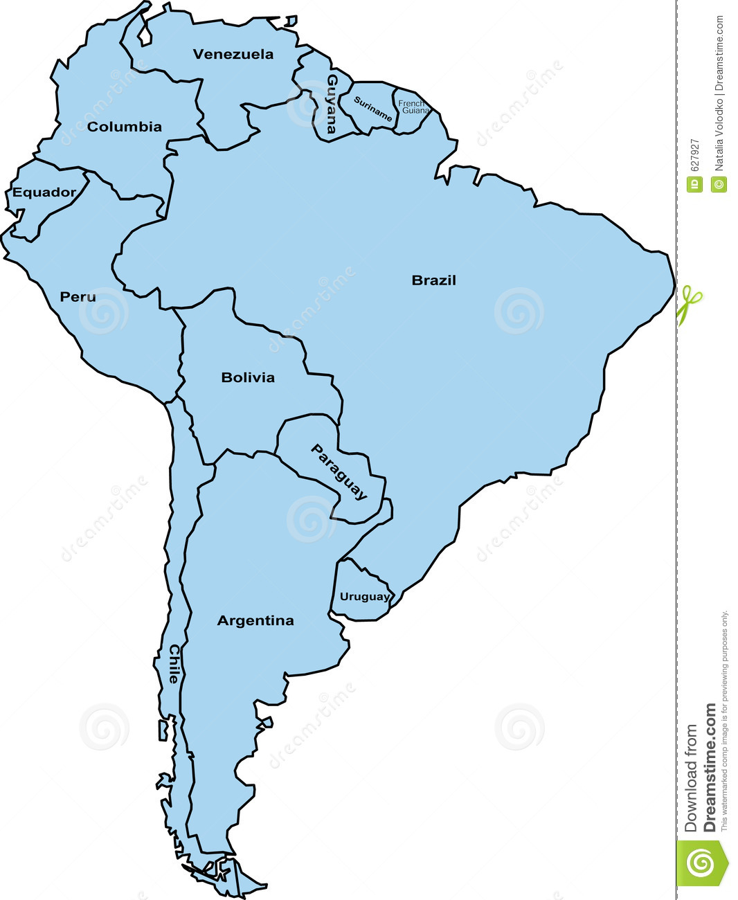 Download Free North America Maps Map Of North America Continent - South america map outline