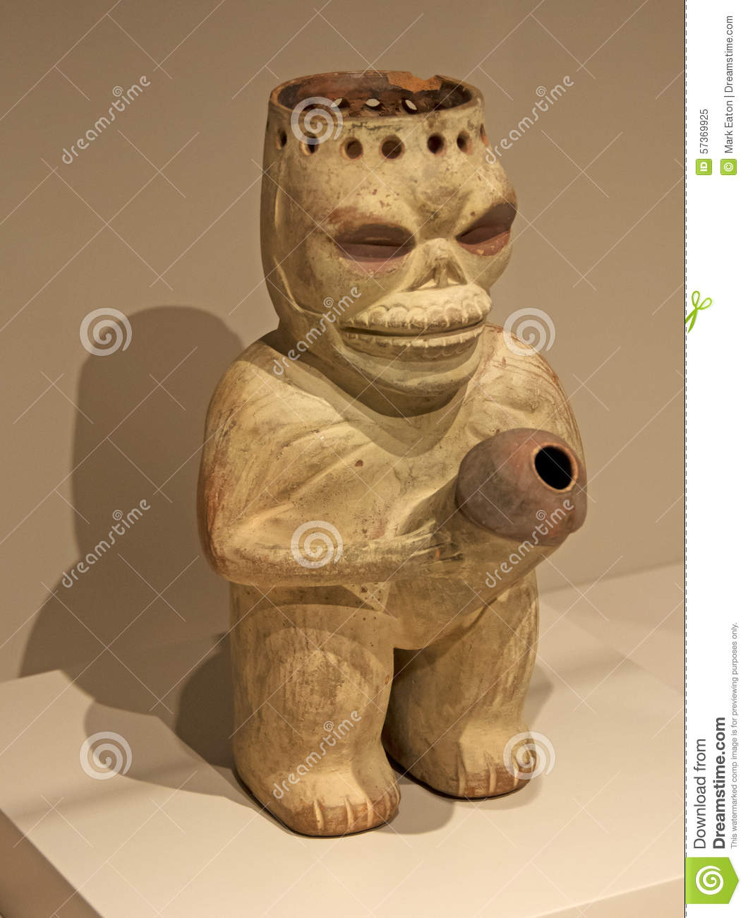 South American Fertility Symbol Stock Image Image Of Father Incas