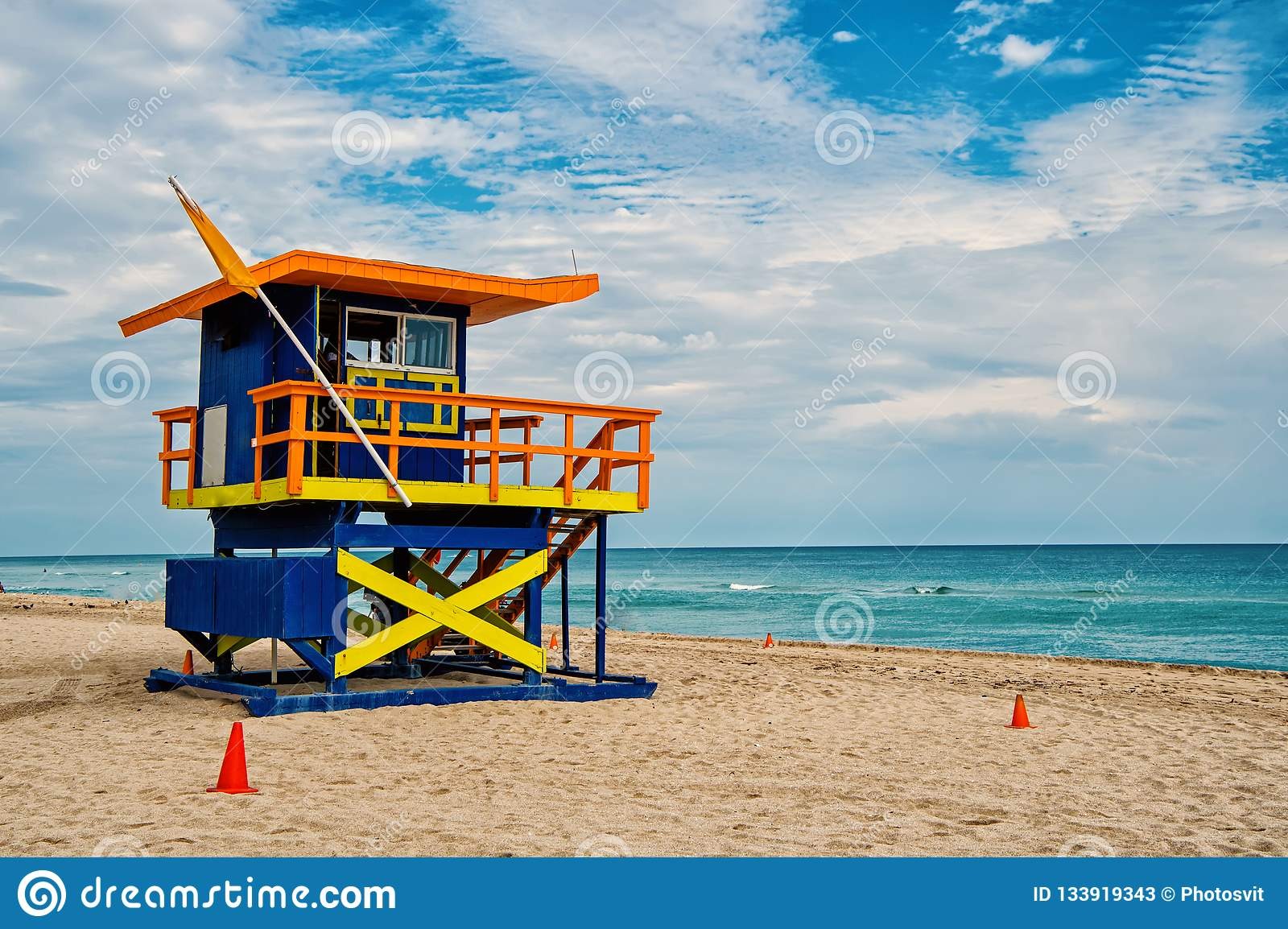 miami beach florida  lifeguard house royalty