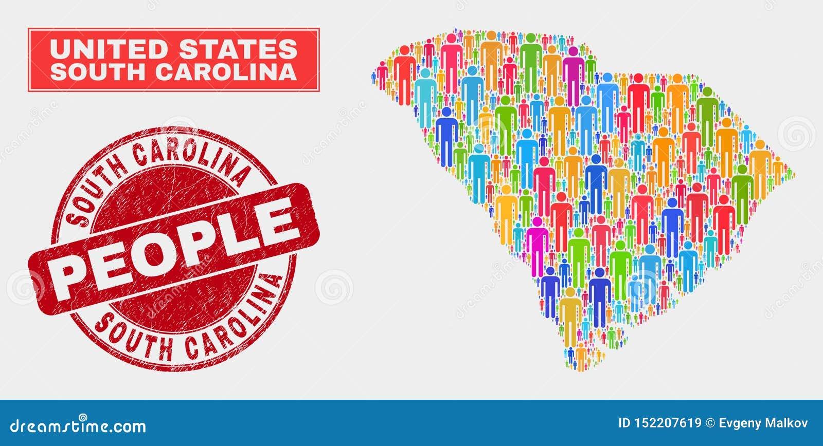 South Carolina State Map Potion Demographics And ... on map of seattle demographics, map of dc demographics, map of raleigh demographics, map of st. louis demographics, map of african american demographics, map of chicago demographics, map of india demographics, map of orlando demographics,
