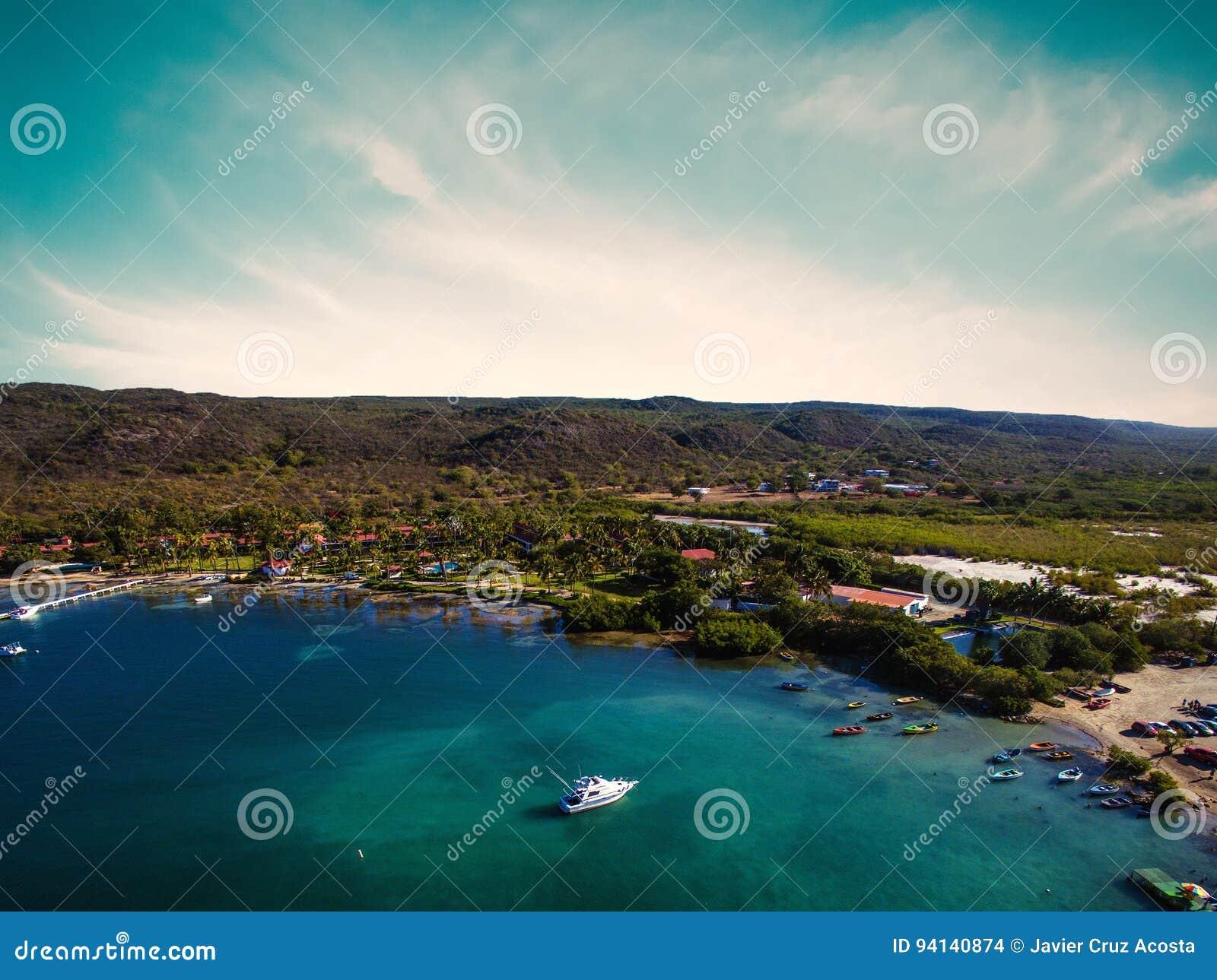 South coast of Puerto Rico