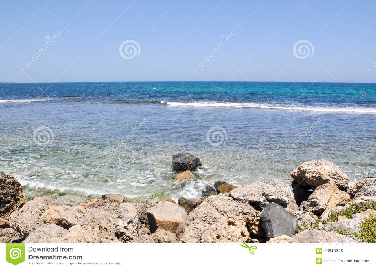 Dunk Island Holidays: South Cottesloe Beach: Turquoise Waters Stock Photo