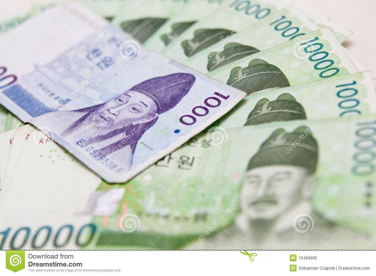 South korea currency stock image image of korean closeup 15469995 south korea currency buycottarizona