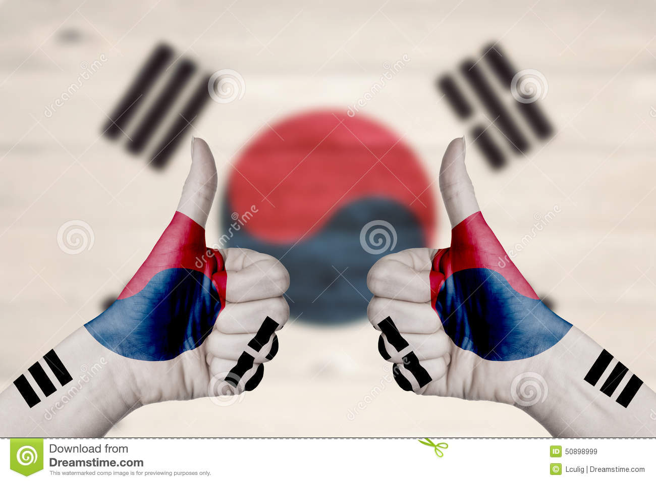 how to say thumbs up in korean