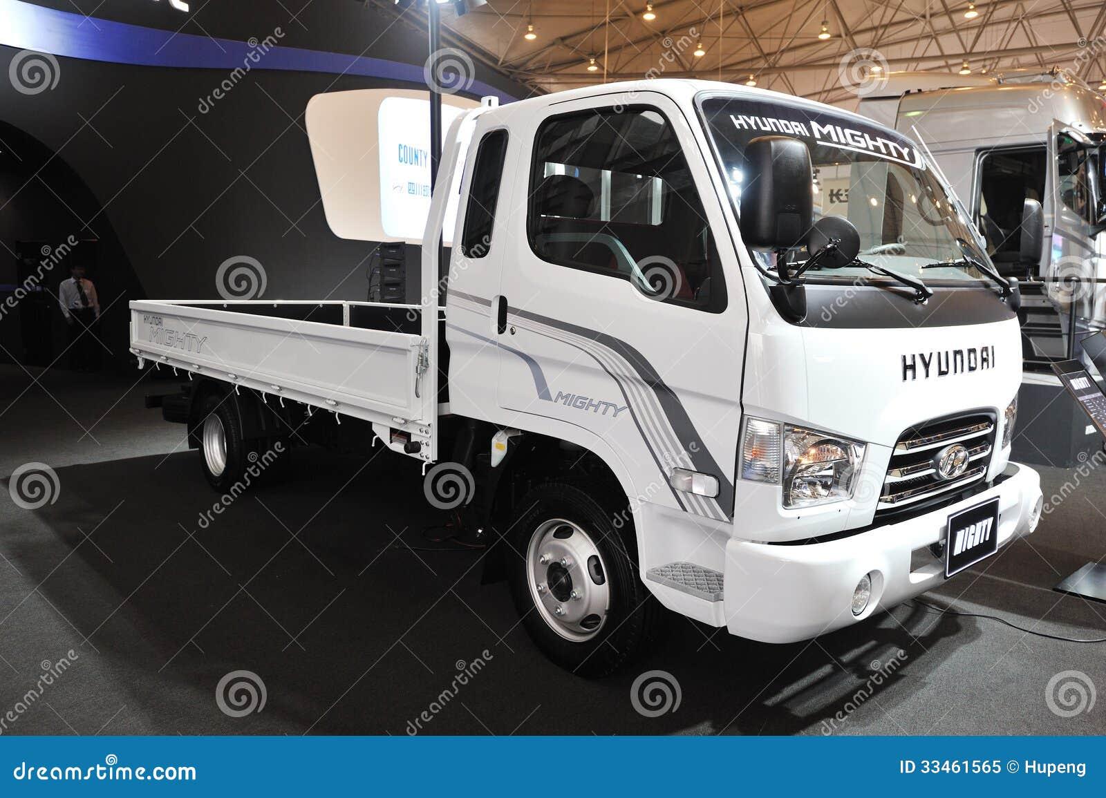 South Korea Hyundai Mighty Truck Editorial Image Image