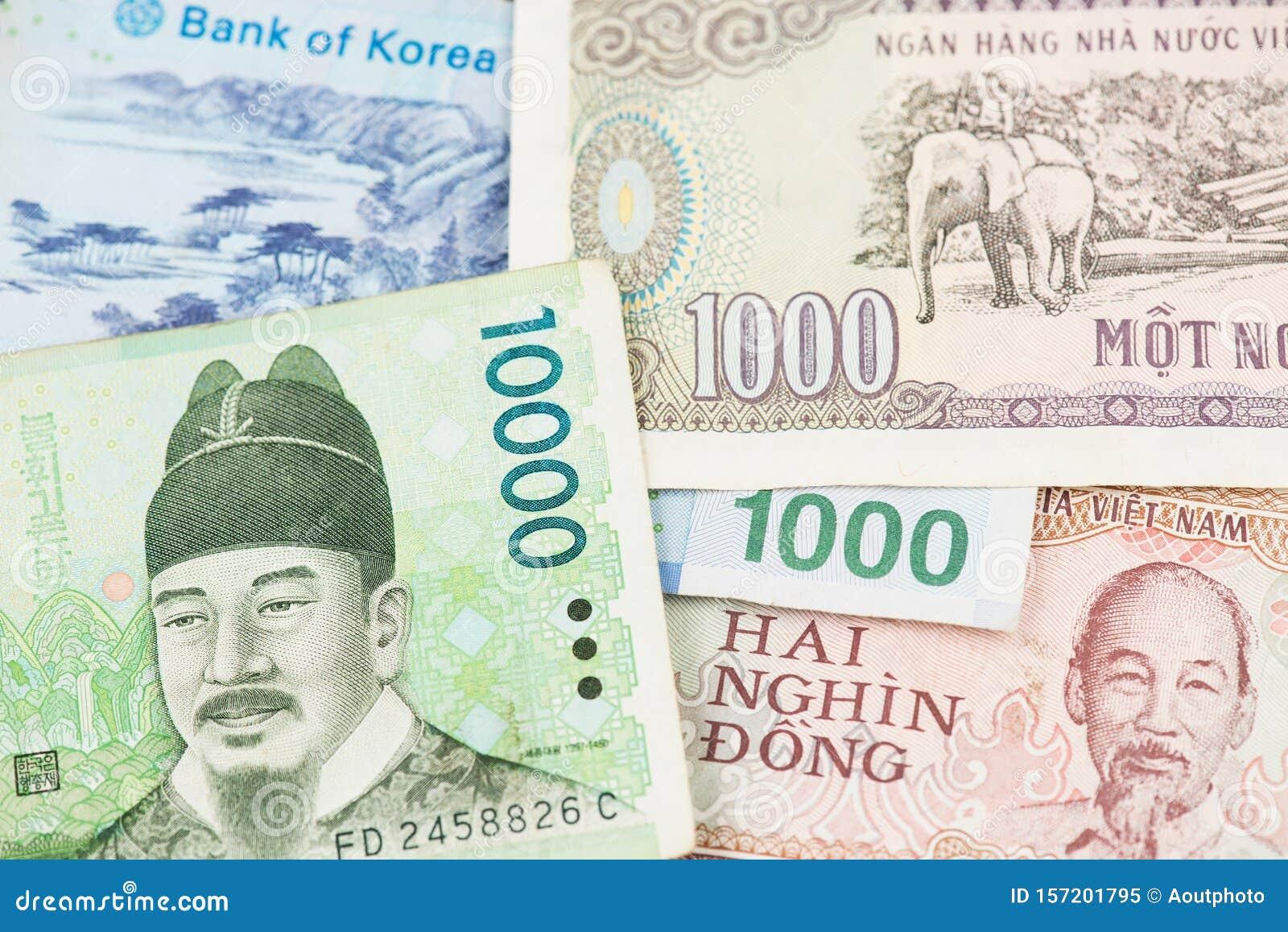 Vietnam Paper Money Vietnam Currency 10 Pcs 1000 Vietnamese Dong Each