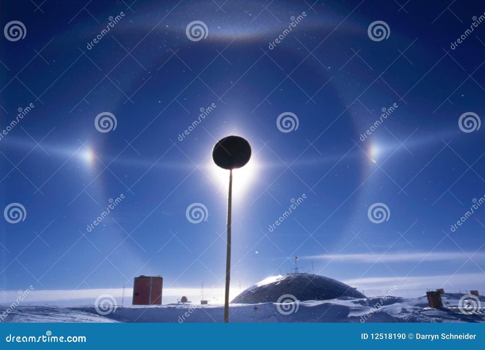 South Pole Halo