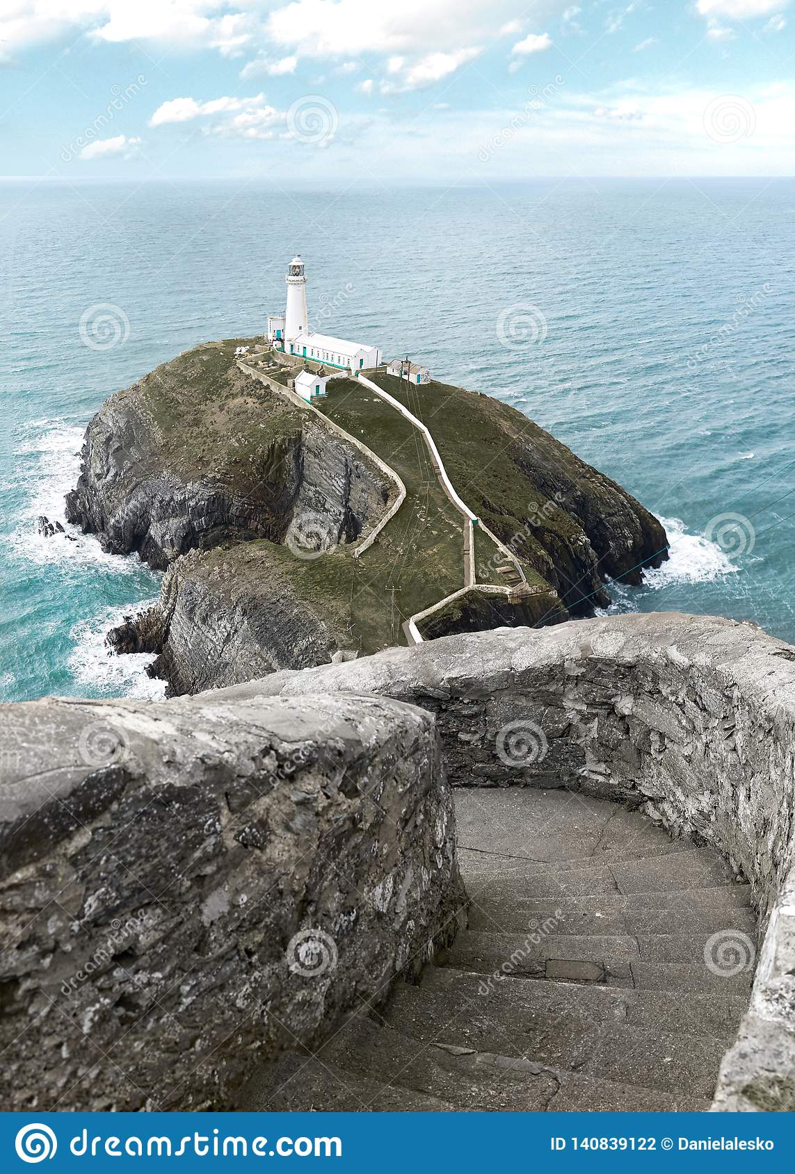 South Stack Lighthouse in North Wales