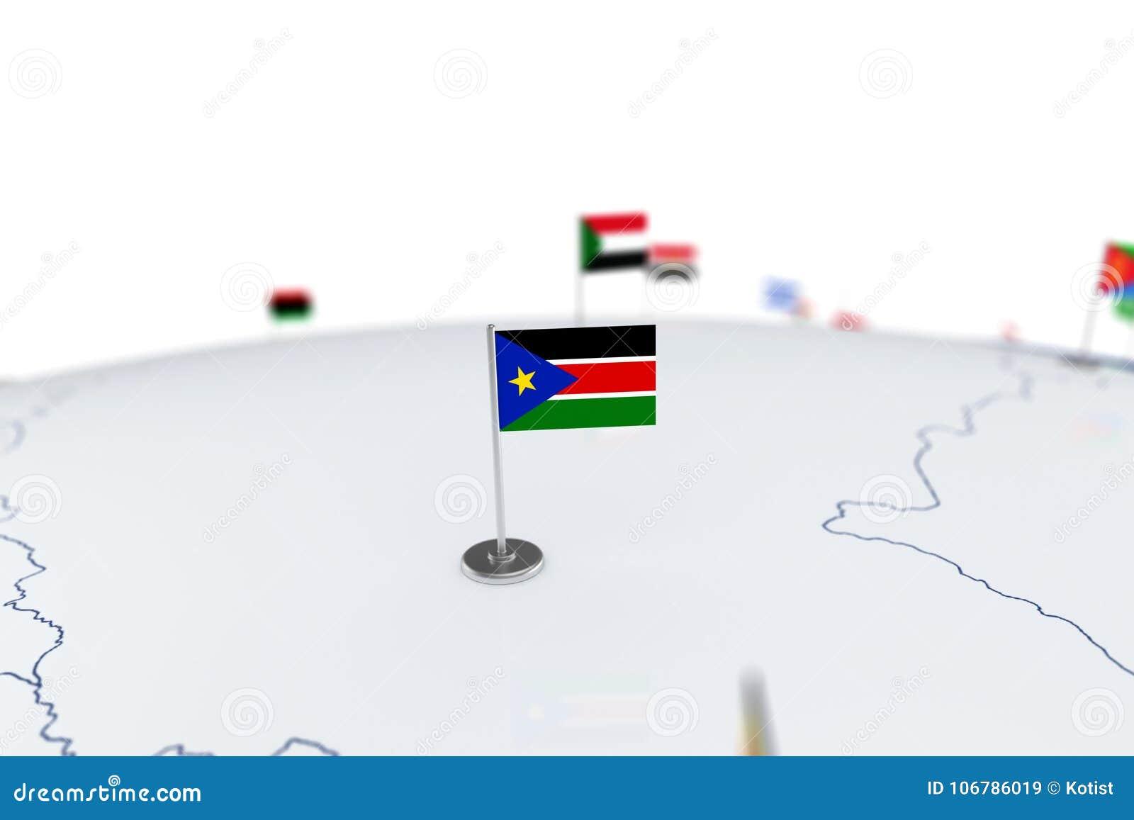 South sudan flag stock illustration illustration of nation 106786019 download south sudan flag stock illustration illustration of nation 106786019 gumiabroncs Choice Image