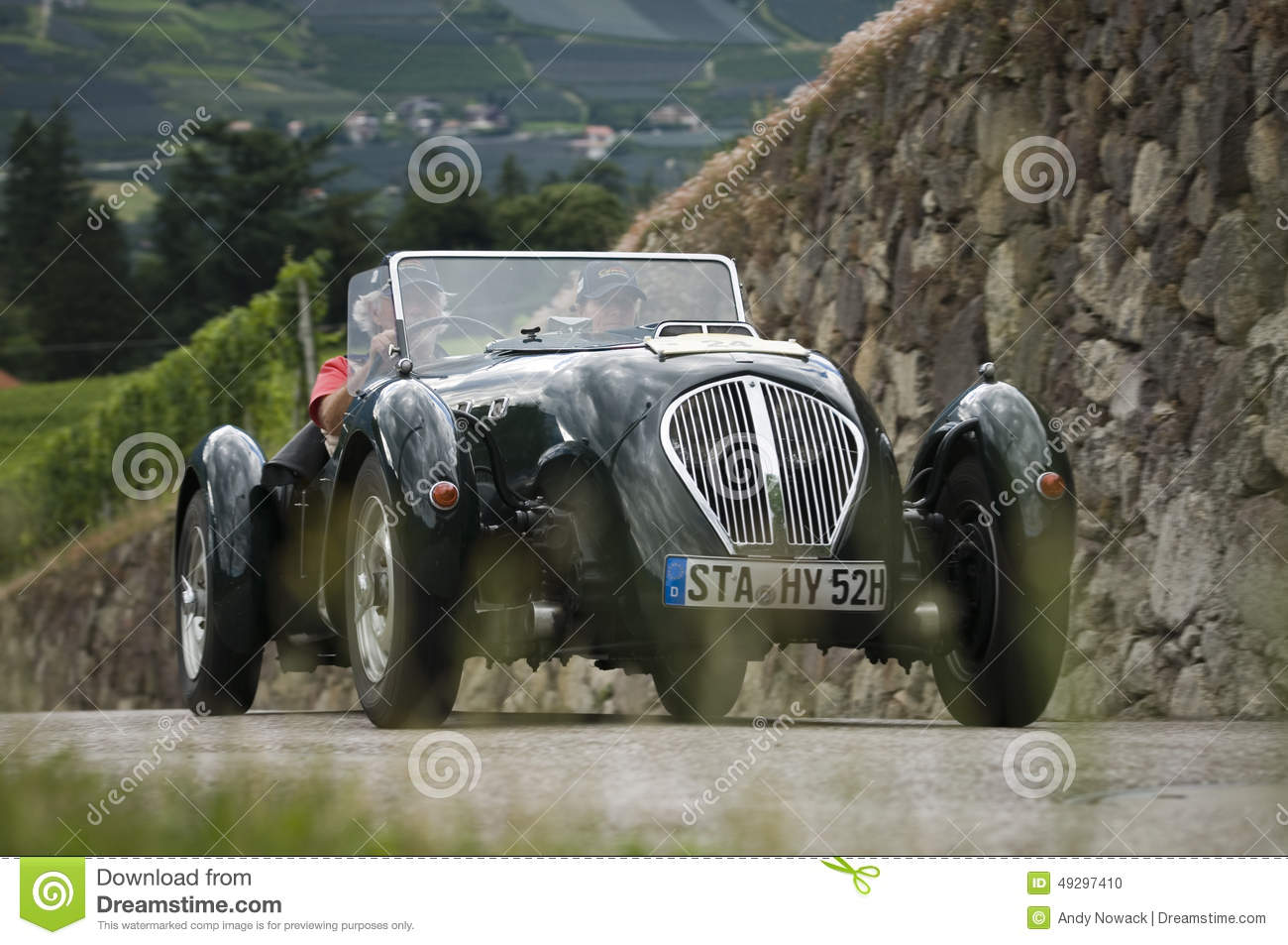South Tyrol Classic Cars Austin Silverstone Special