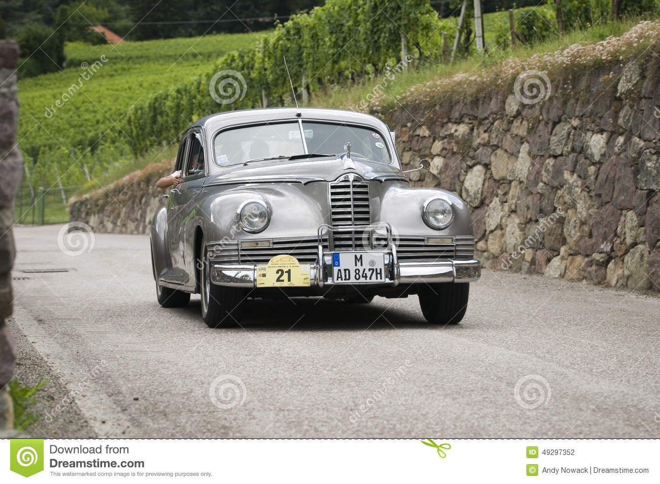 South Tyrol Classic Cars_Packard Super Clipper Editorial Photography ...