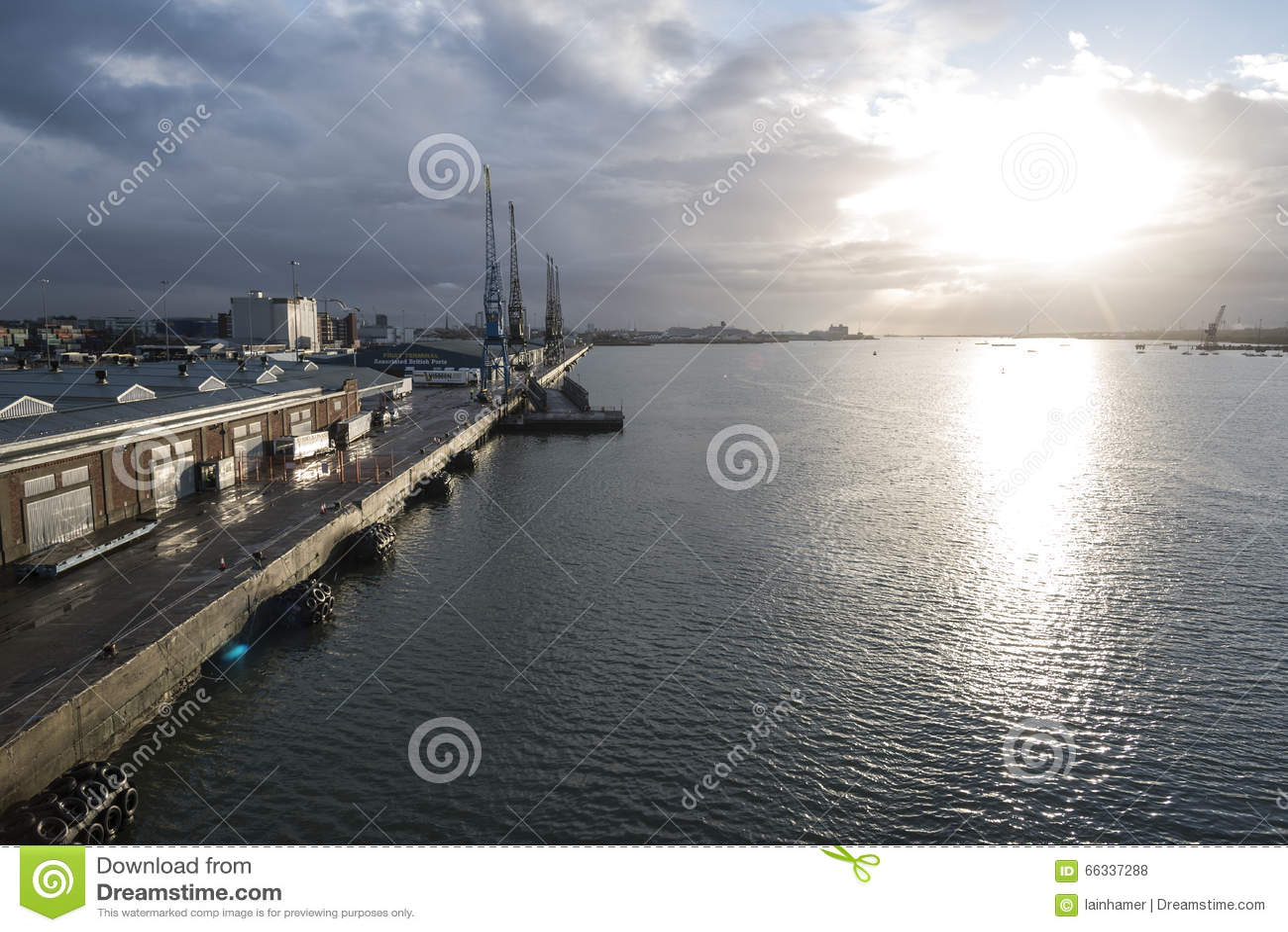 Southampton Docks United Kingdom