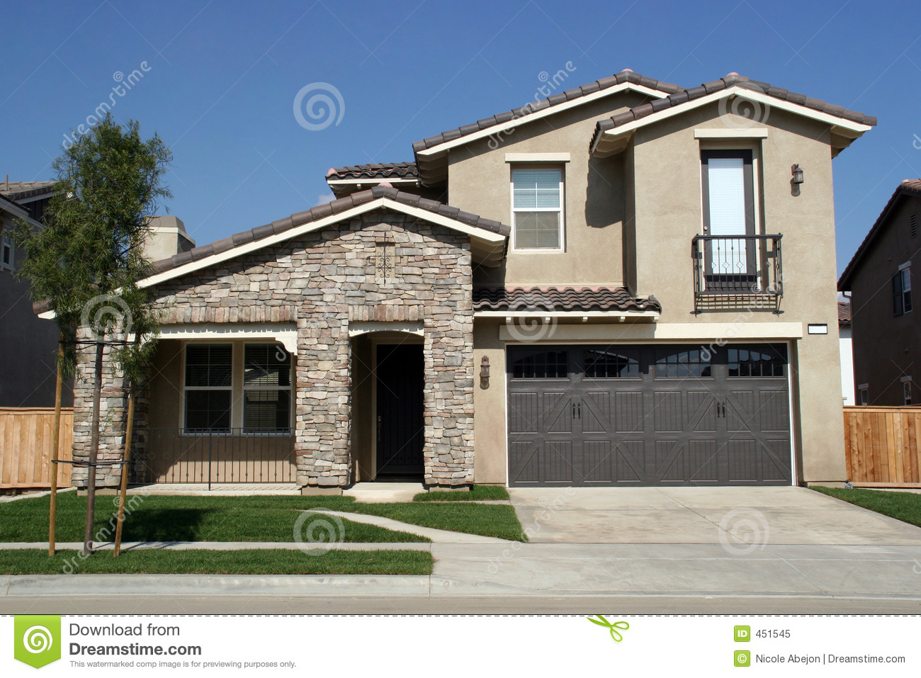 Southern ca home royalty free stock photo image 451545 for Free house photos