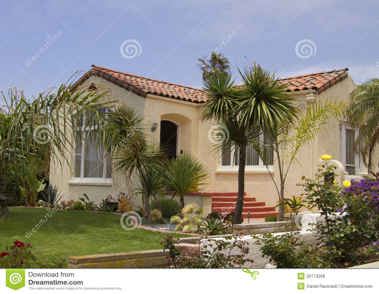 Southern California Ocean Beach House Royalty Free Stock Photos Image 3217
