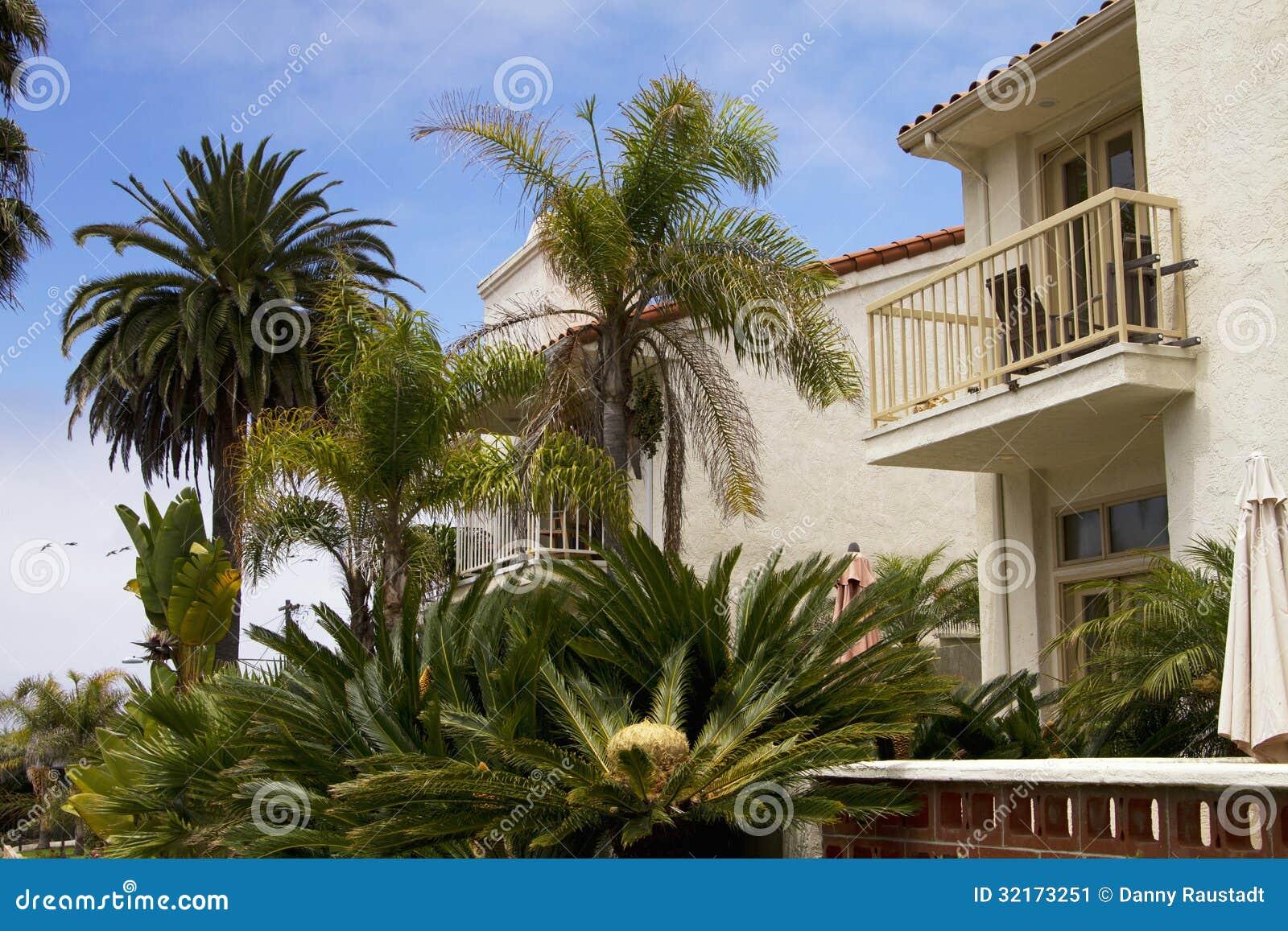 Southern California Ocean Beach Houses Stock Image Image 32173251