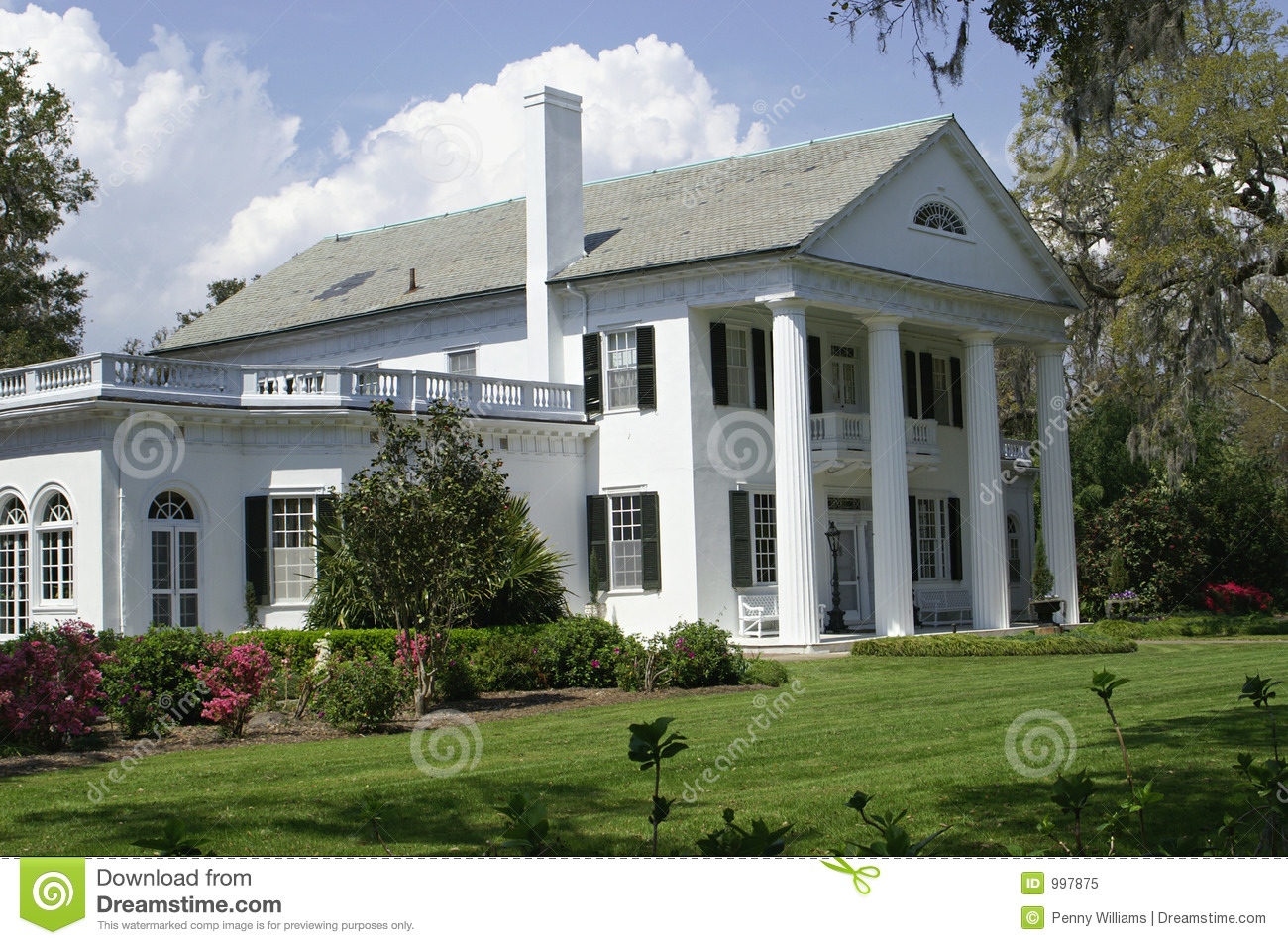 Southern House Royalty Free Stock Photo Image 997875
