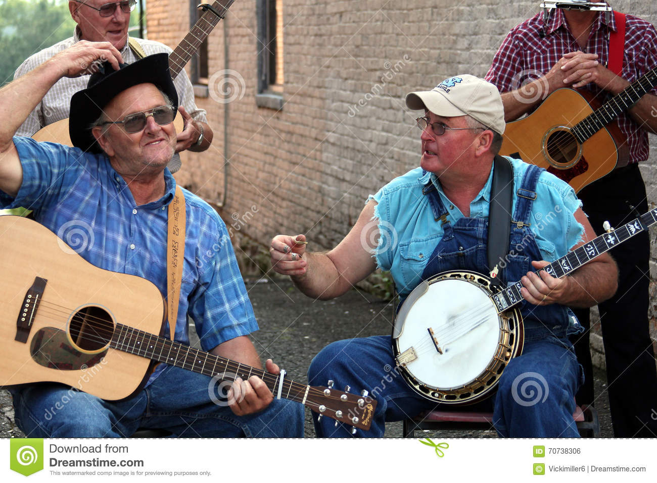 southern men playing bluegrass editorial photo image 70738306. Black Bedroom Furniture Sets. Home Design Ideas