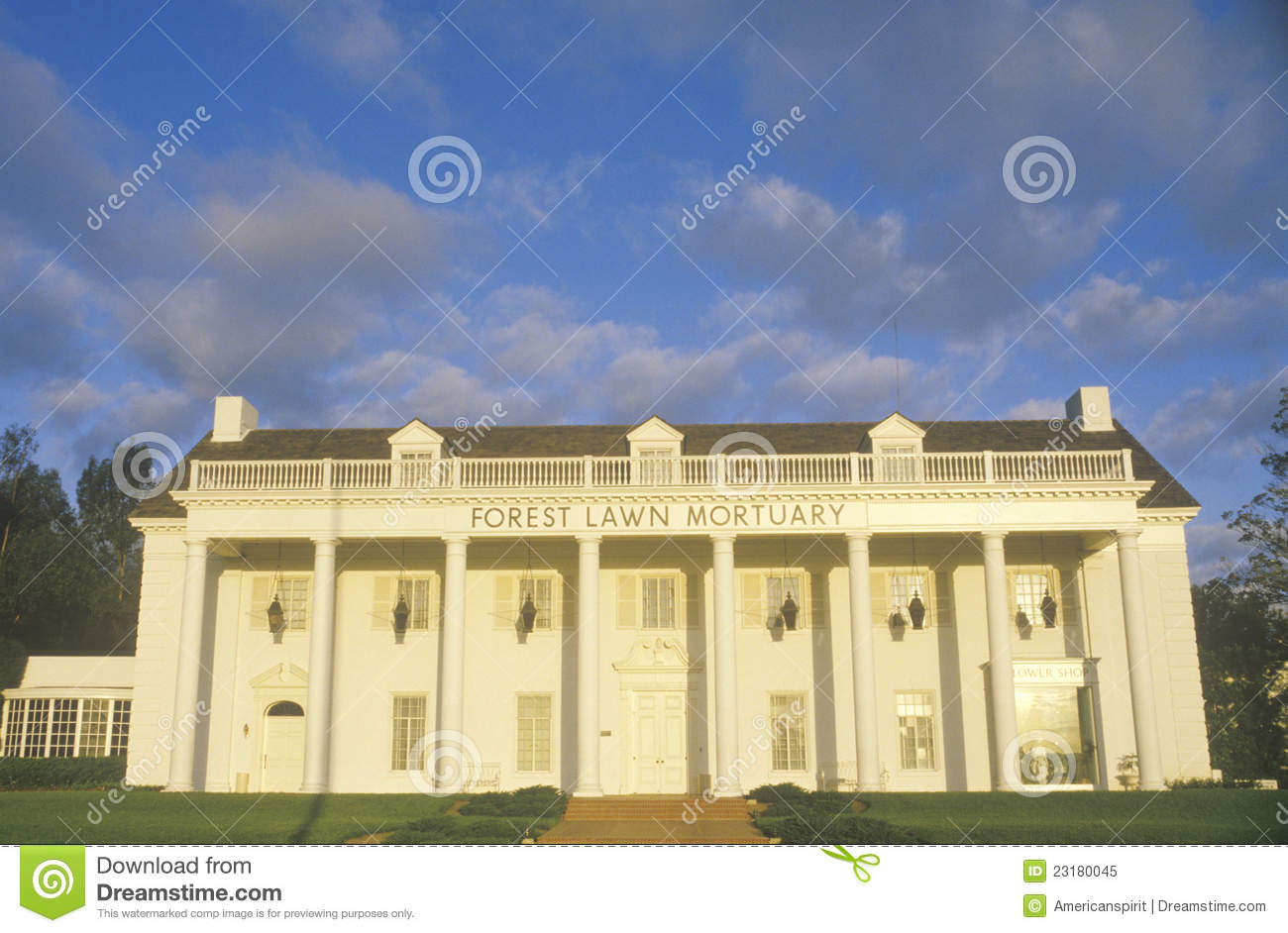 Southern style architecture royalty free stock photo for Southern architectural styles