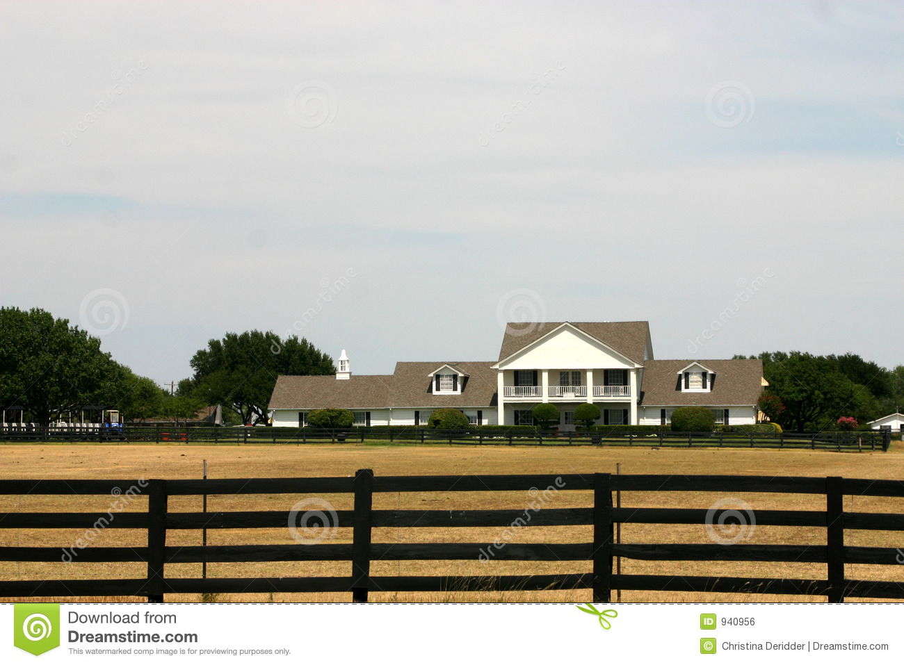 Southfork ranch near dallas royalty free stock image for Southfork ranch house plans