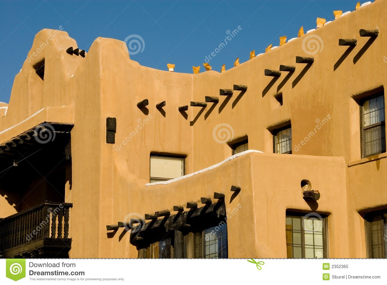 Southwest adobe architecture royalty free stock photo image 2352365 - How to build an adobe house ...