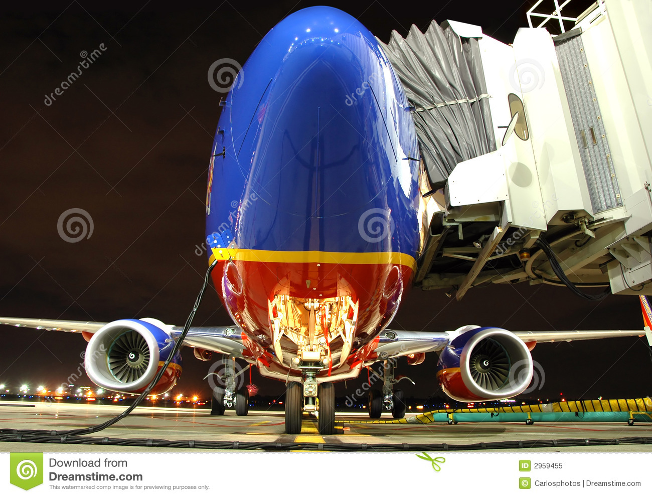 Southwest airlines plane at th stock image image of wheel southwest airlines plane at th buycottarizona