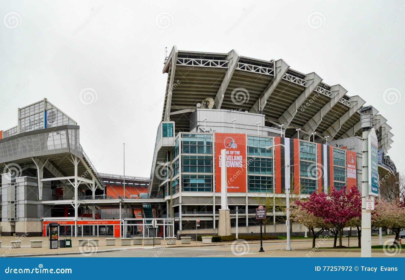 Southwest Entrance Gate FirstEnergy Stadium Cleveland Ohio