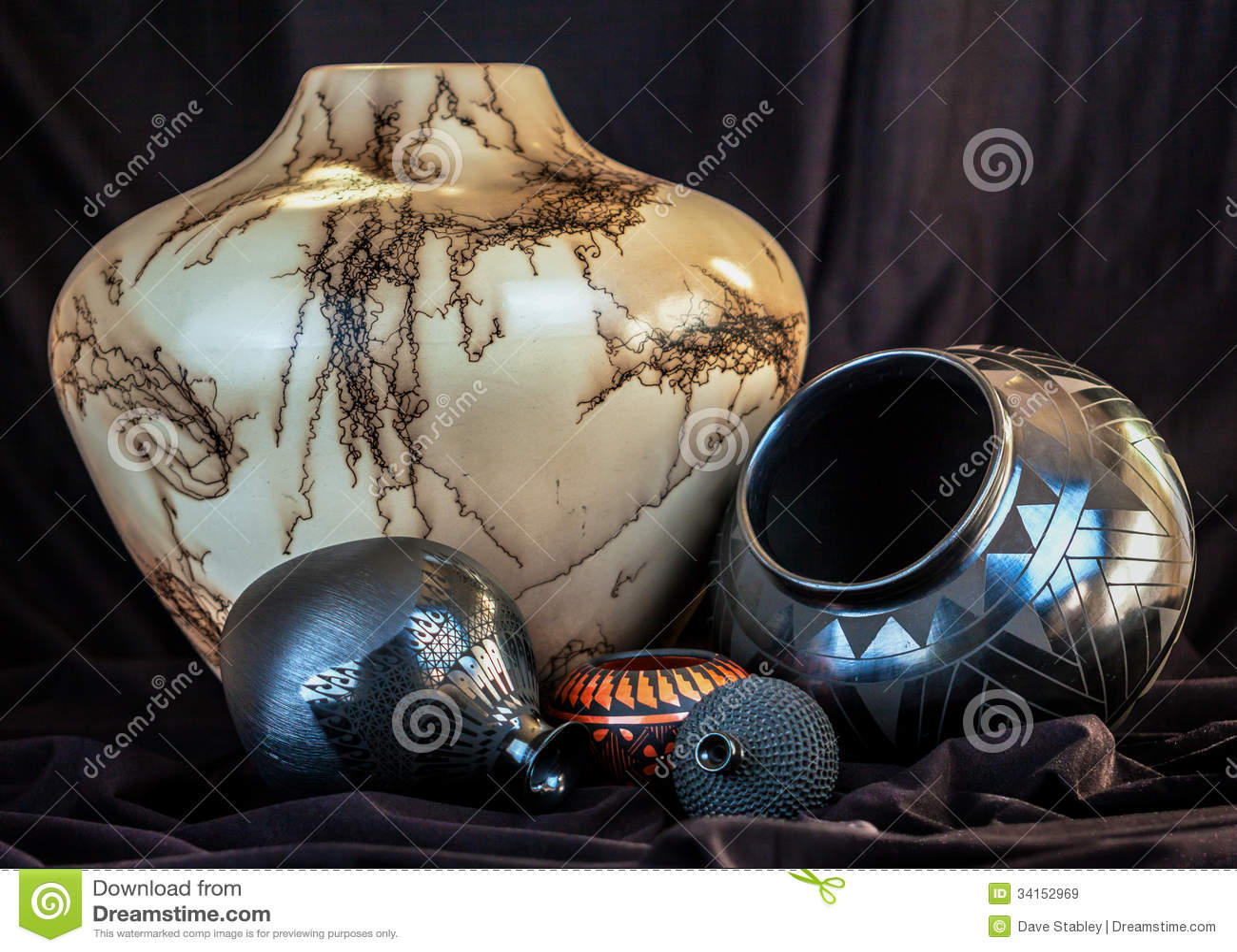 Southwest Pottery Royalty Free Stock Images Image 34152969
