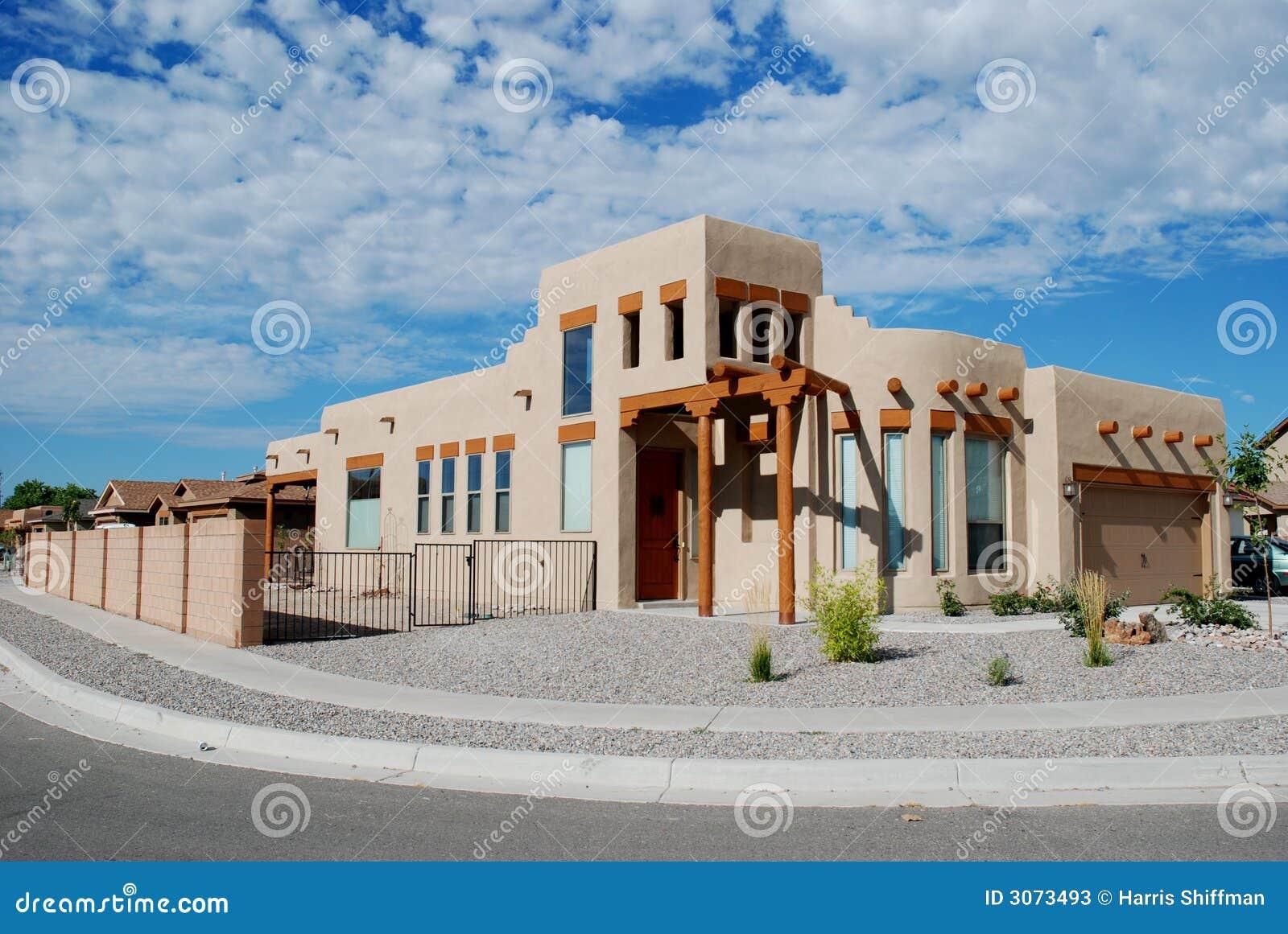 Southwestern Home Stock Photos Image 3073493