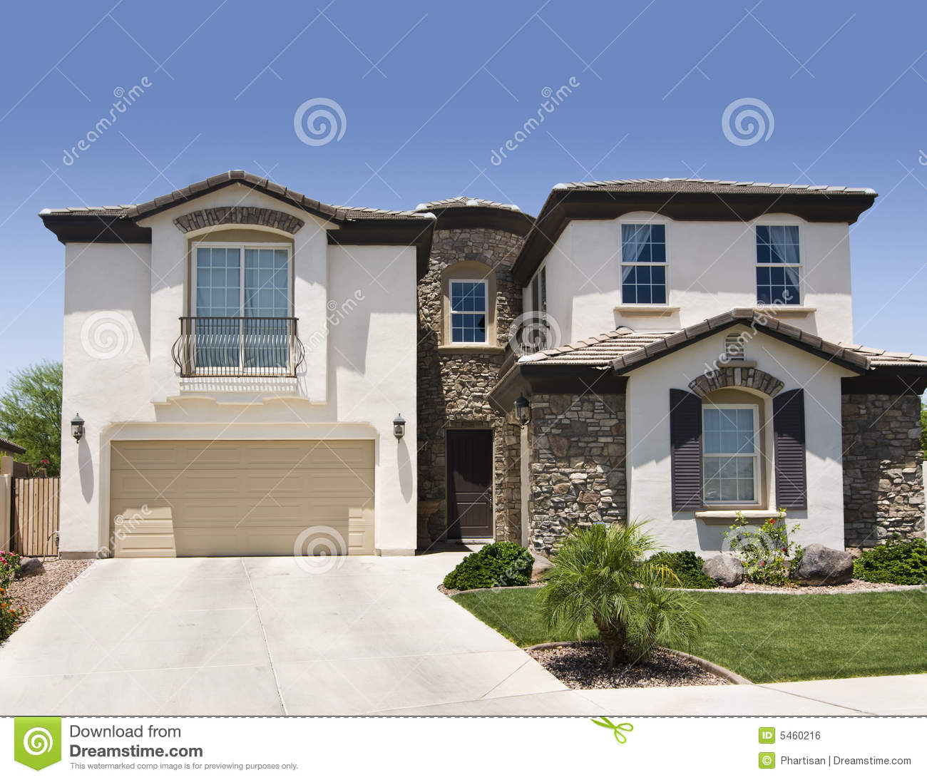 Southwestern Home Stock Photo Image Of Home Beige Stone