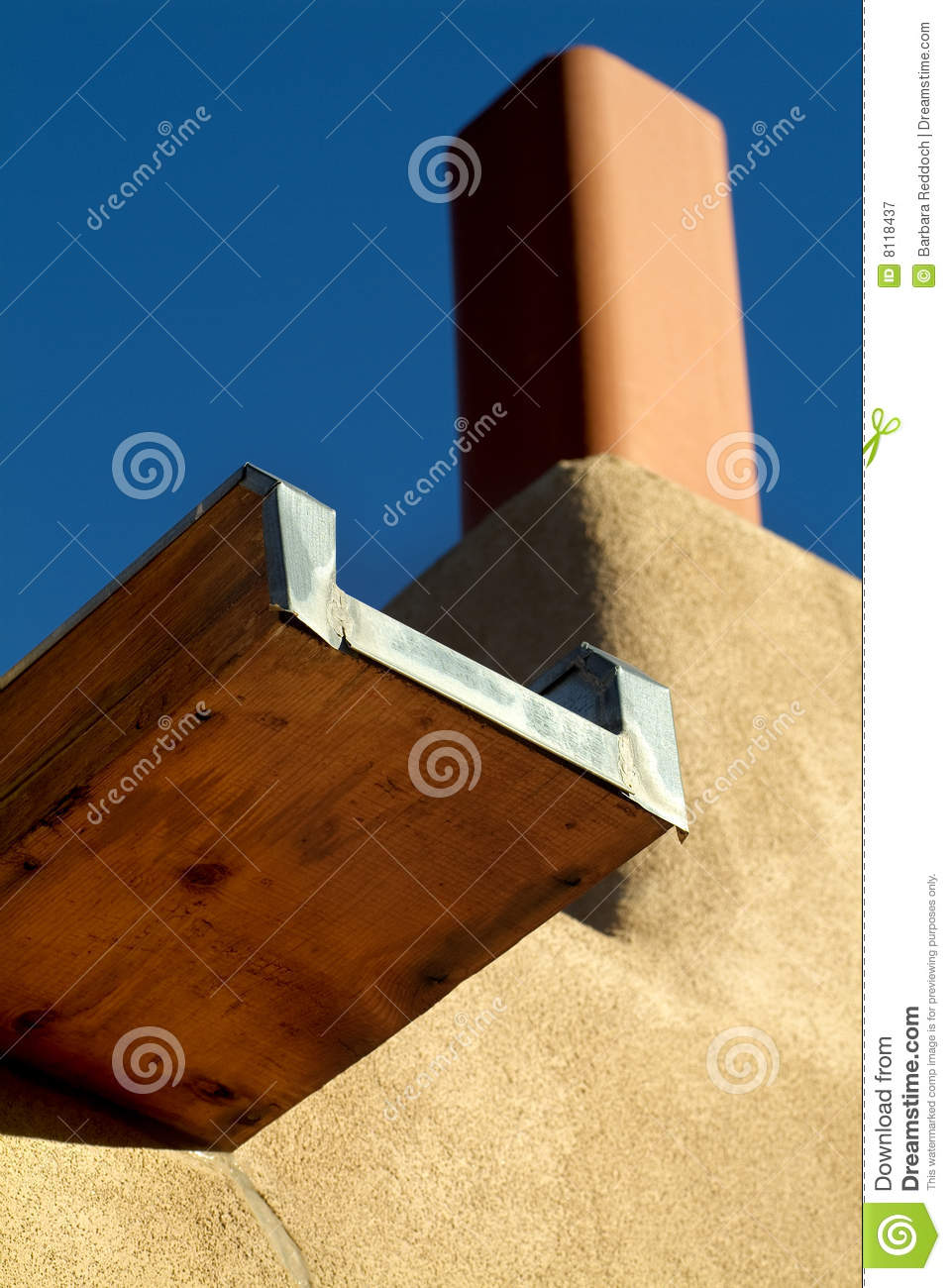 Canale,the Spanish word for canal, or in this case - roof gutter, on a ...