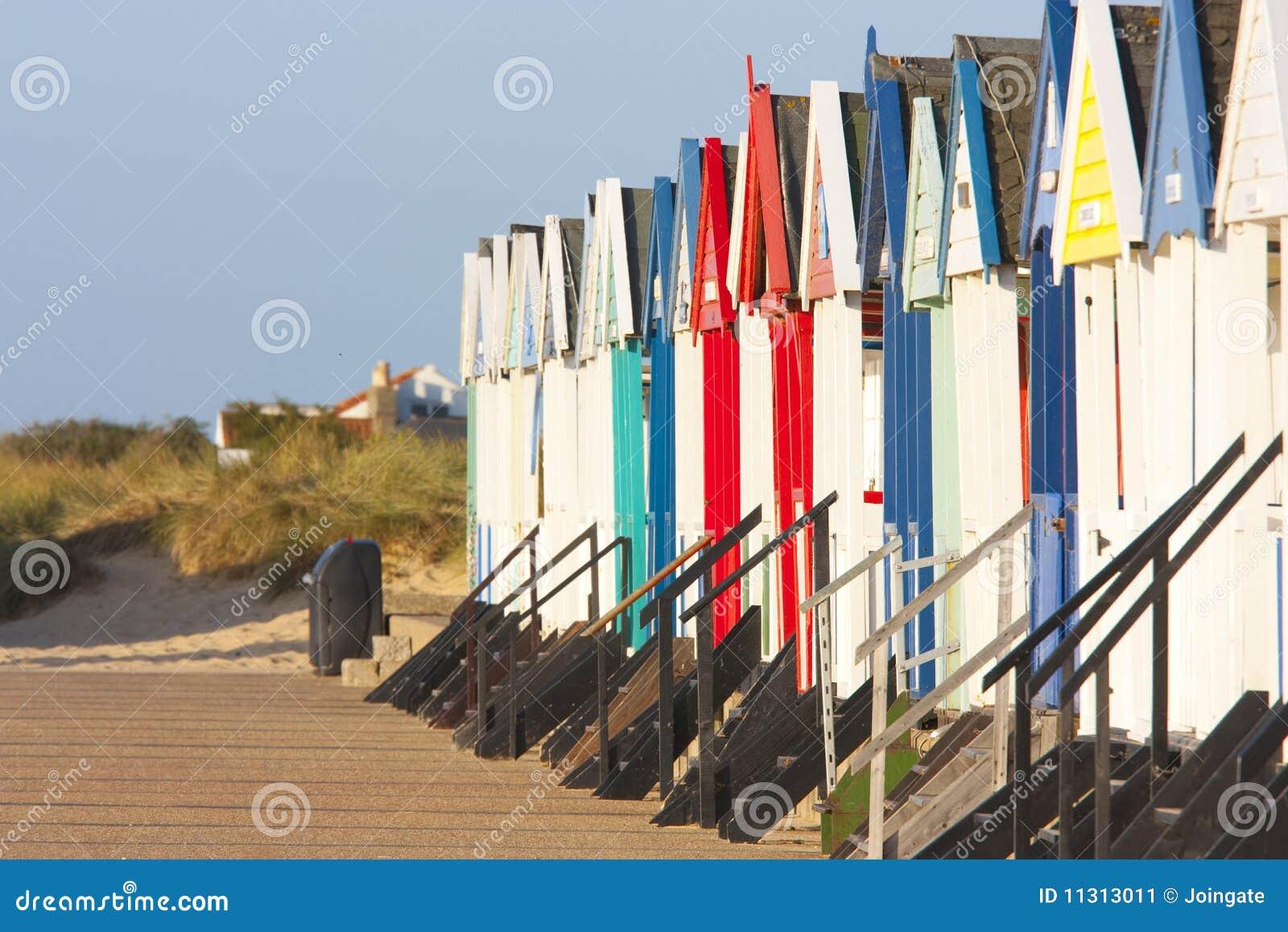 Southwold Strandhütten