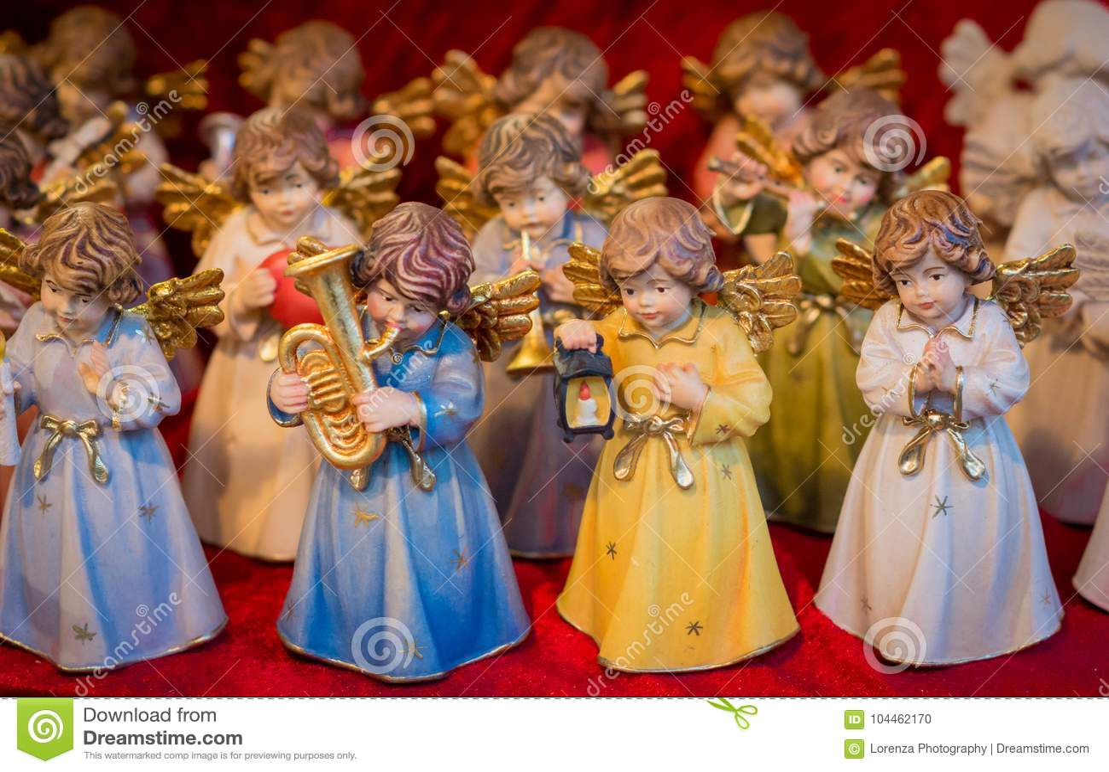 Souvenir du marché de Noël, Trentino Alto Adige, Italie du nord Noël de Trento, foyer sélectif