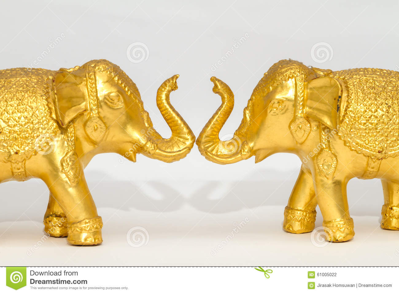 Souvenir Elephant Of Thailand Stock Photo Image Of Statue