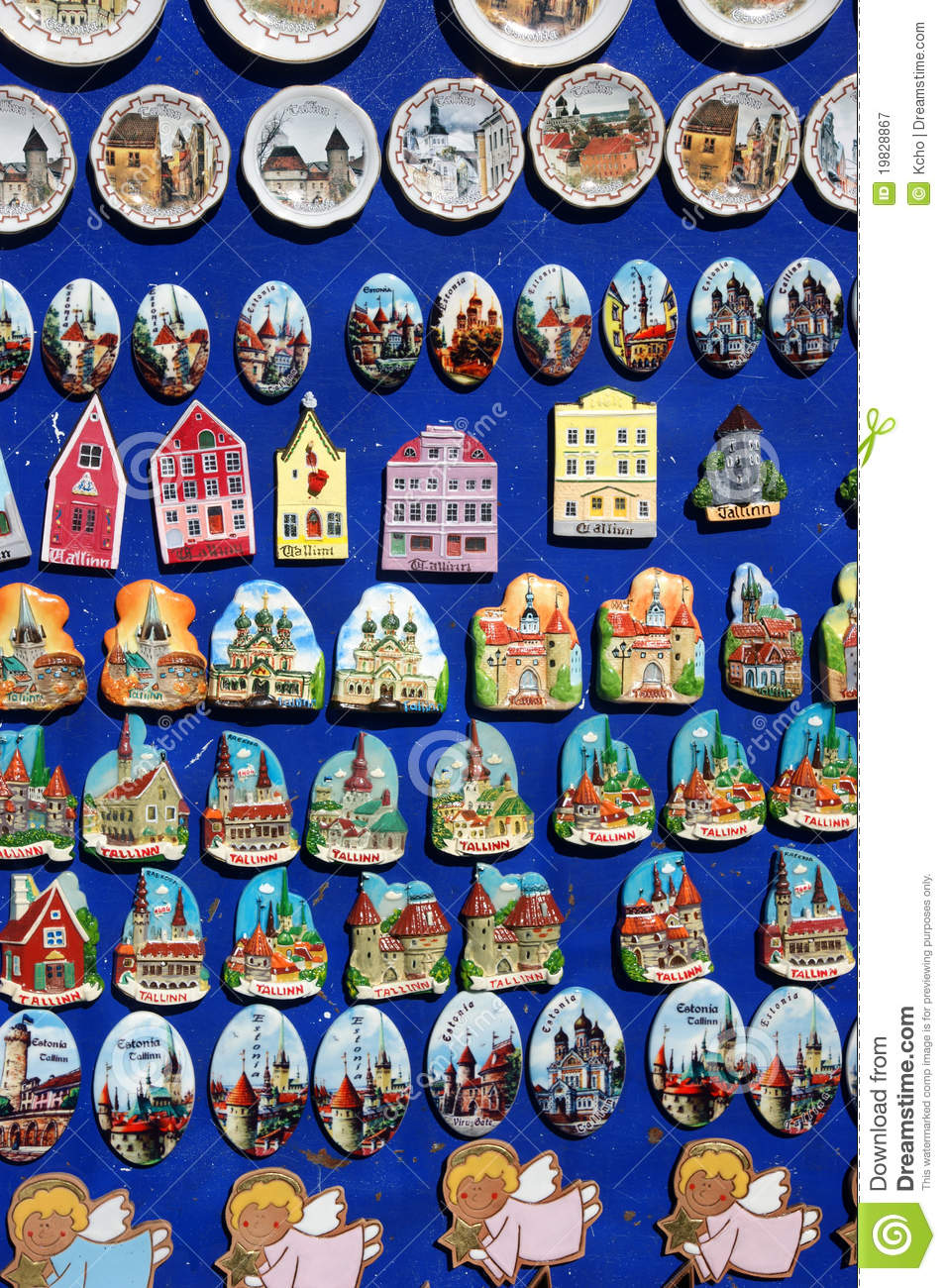 Souvenir Estonia Tallinn Royalty Free Stock Photography